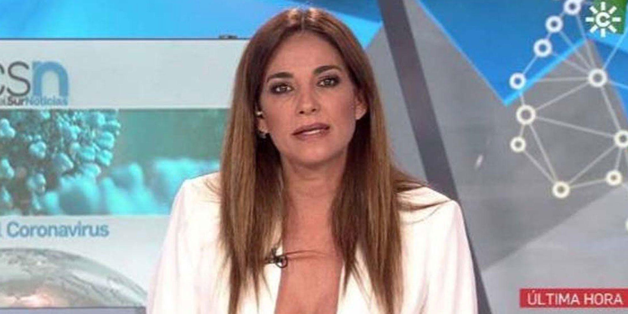 Mariló Montero vuelve a presentar los informativos de Canal Sur 14 años después