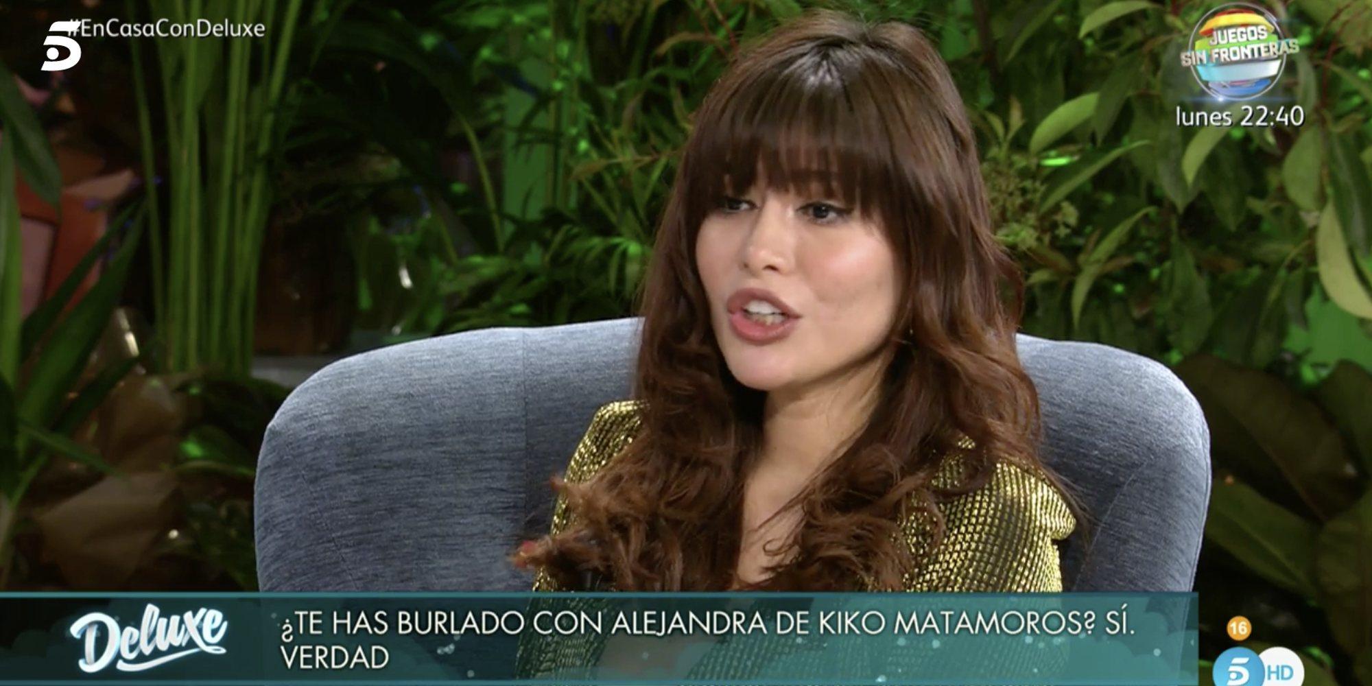 "Miriam Saavedra: ""Alejandra Rubio me dijo que saludaba a Kiko Matamoros por compromiso"""