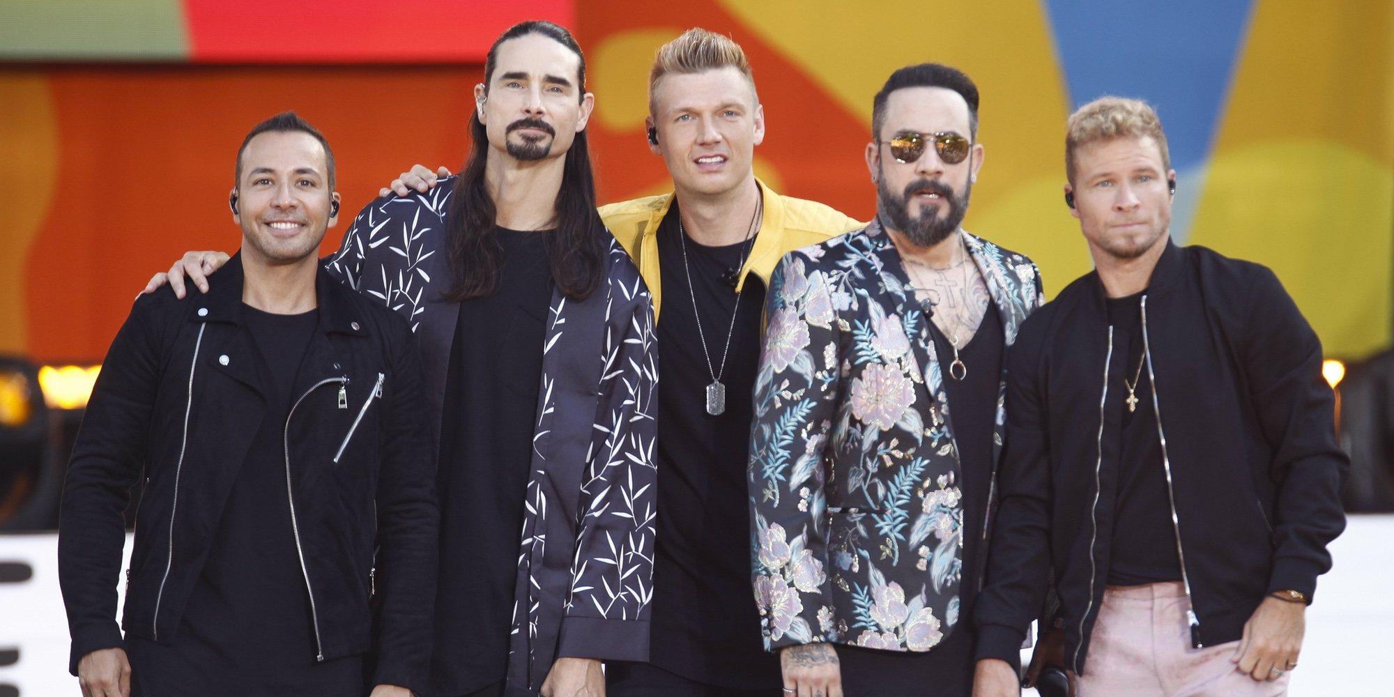 Los Backstreet Boys interpretan 'I want It that way' junto a sus hijos durante la cuarentena