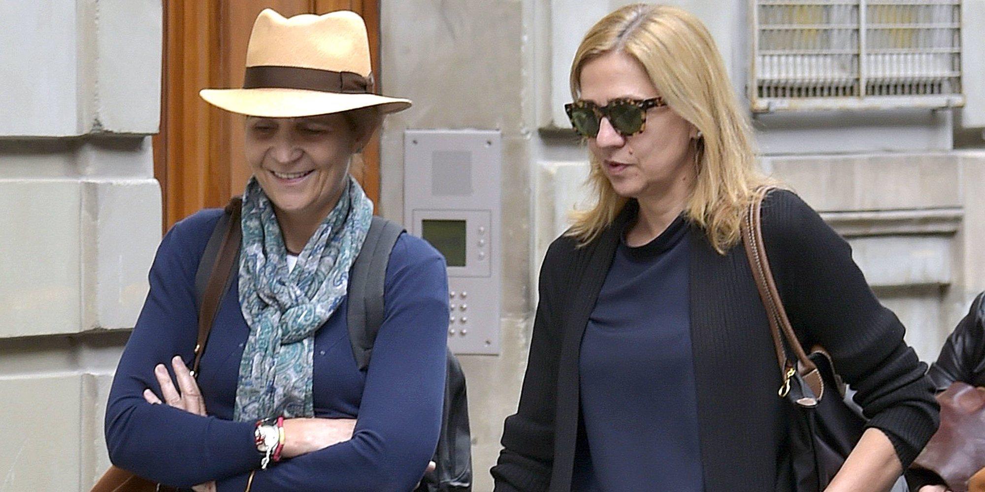 Los presuntos excesos de las Infantas Elena y Cristina con sus escoltas durante la crisis del coronavirus
