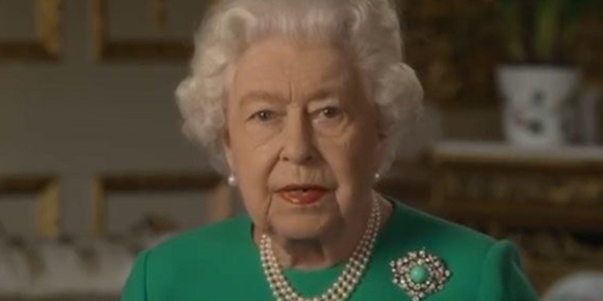 """El esperanzador mensaje de la Reina Isabel en la lucha contra el coronavirus: """"Lo superaremos"""""""