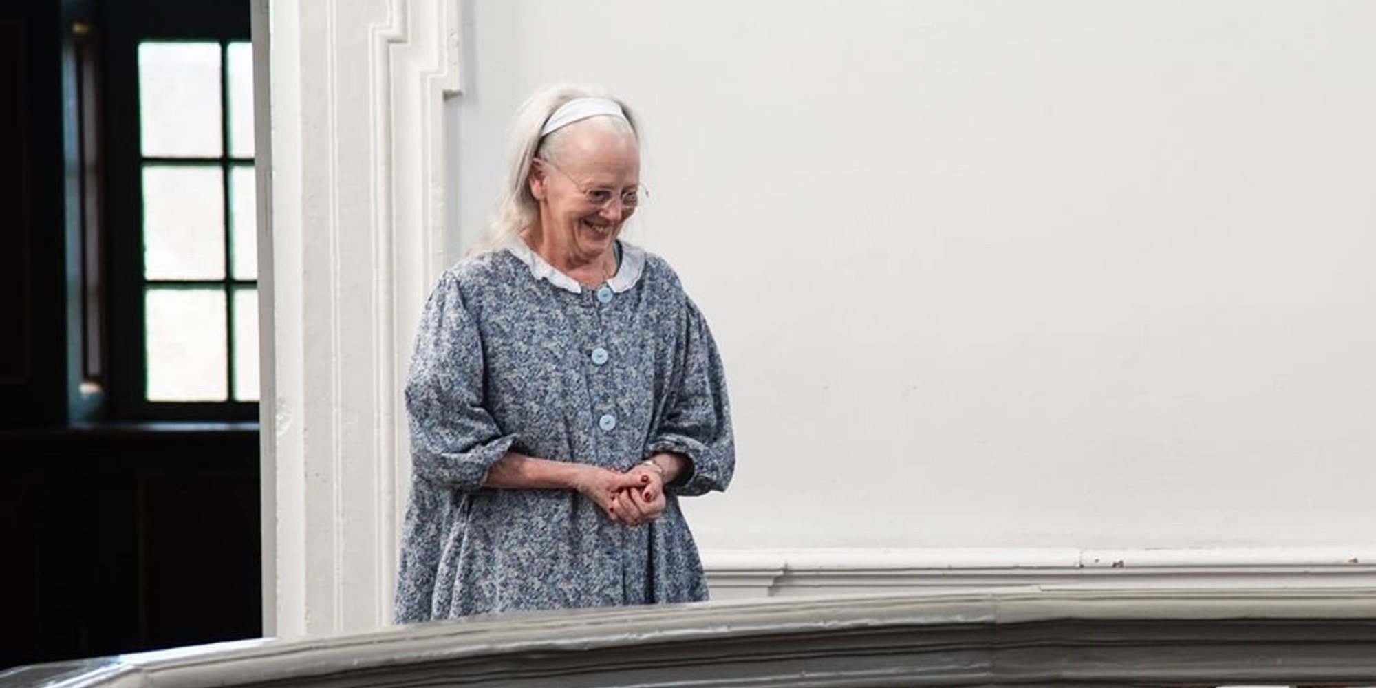 La Reina Margarita de Dinamarca muestra su aspecto más natural al recibir las felicitaciones por su 80 cumpleaños
