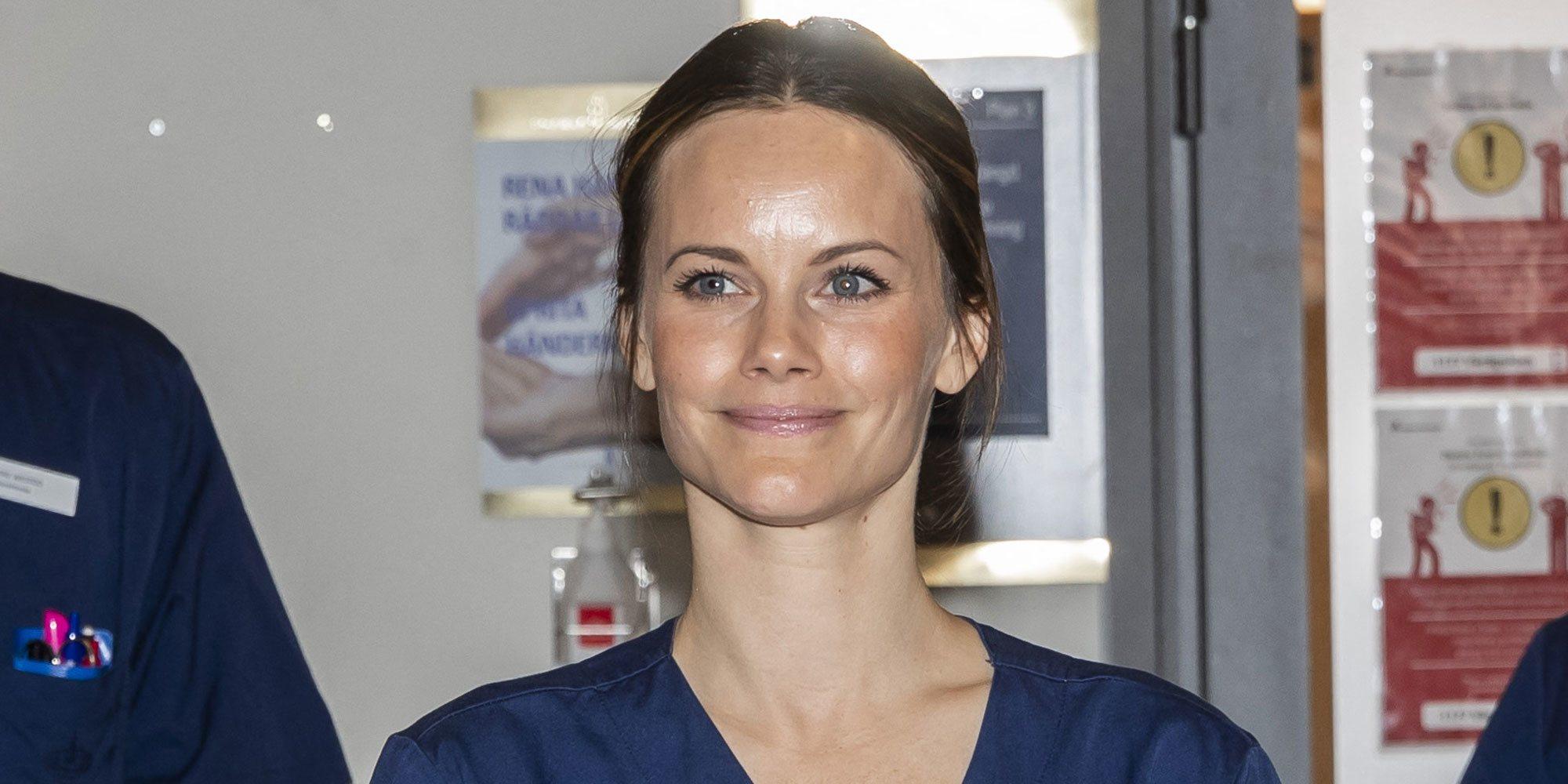 Así ha sido el primer día como voluntaria de la Princesa Sofia de Suecia para luchar contra el coronavirus
