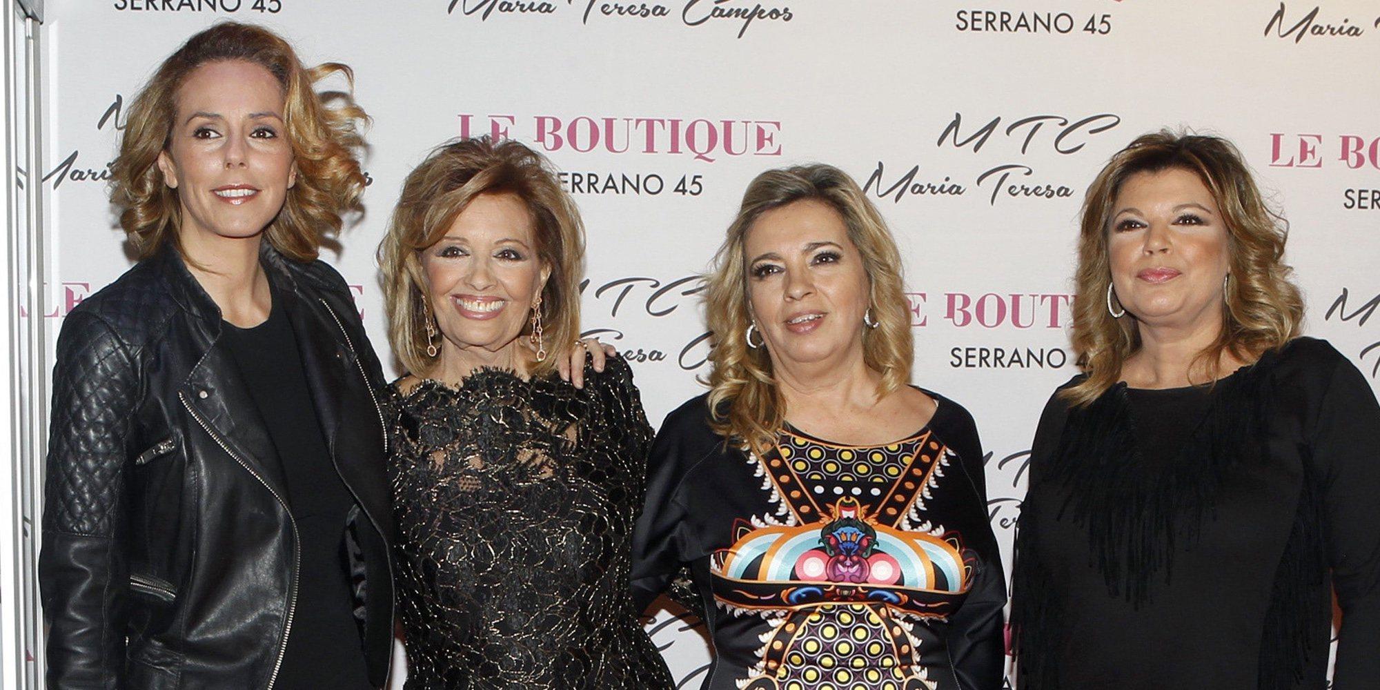 Terelu Campos cuenta cuál podría ser la clave para el acercamiento entre Rocío Carrasco y su hija Rocío Flores