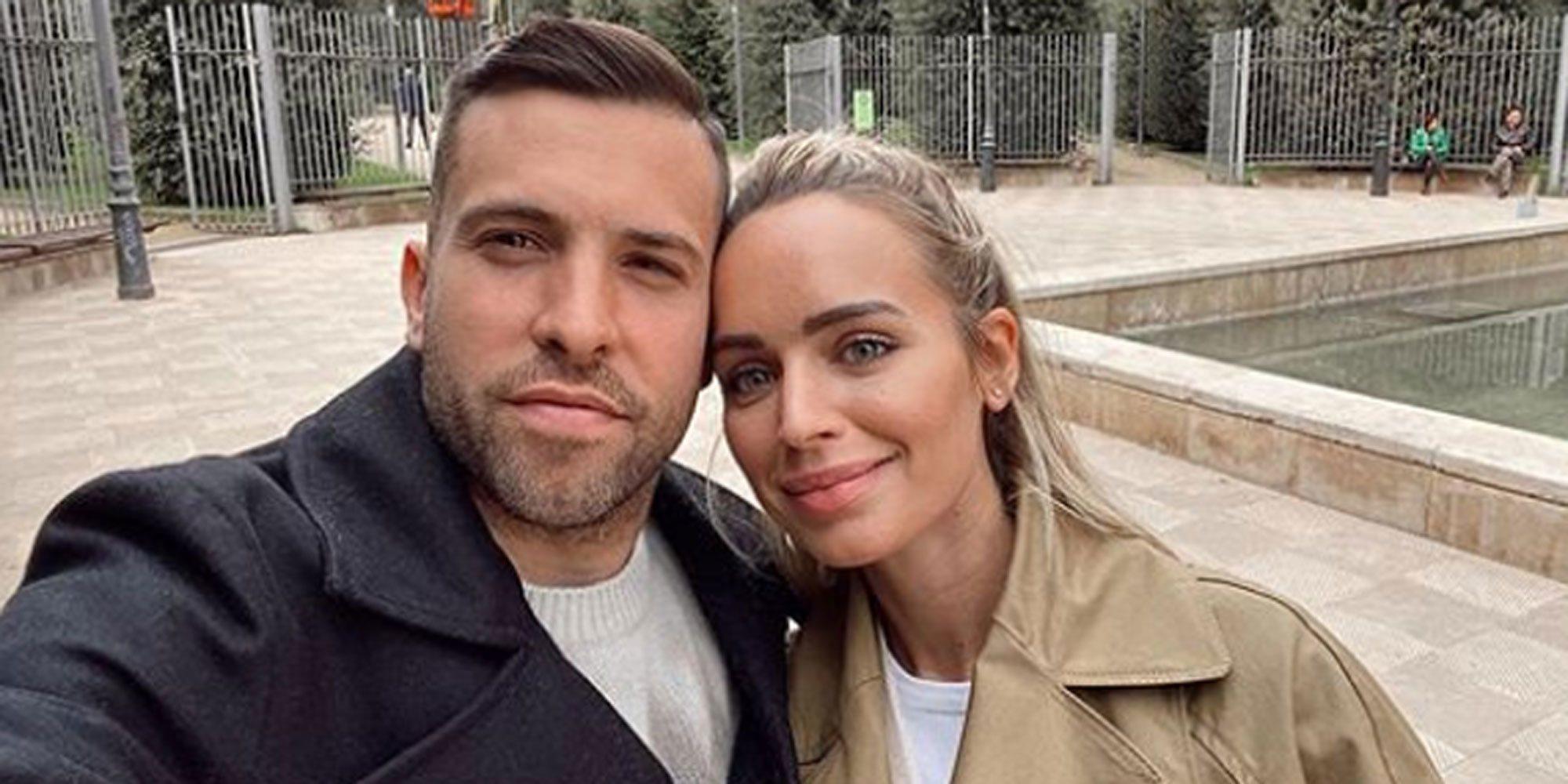 Jordi Alba y Romarey Ventura anuncian que serán padres por segunda vez
