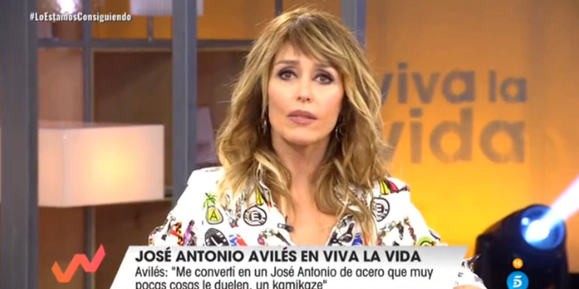 """Emma García, muy firme con José Antonio Avilés: """"Es injustificable todo lo que has hecho"""""""