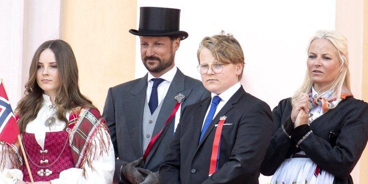 La Familia Real de Noruega celebra un atípico Día Nacional 2020 con una imagen de 'nueva normalidad'