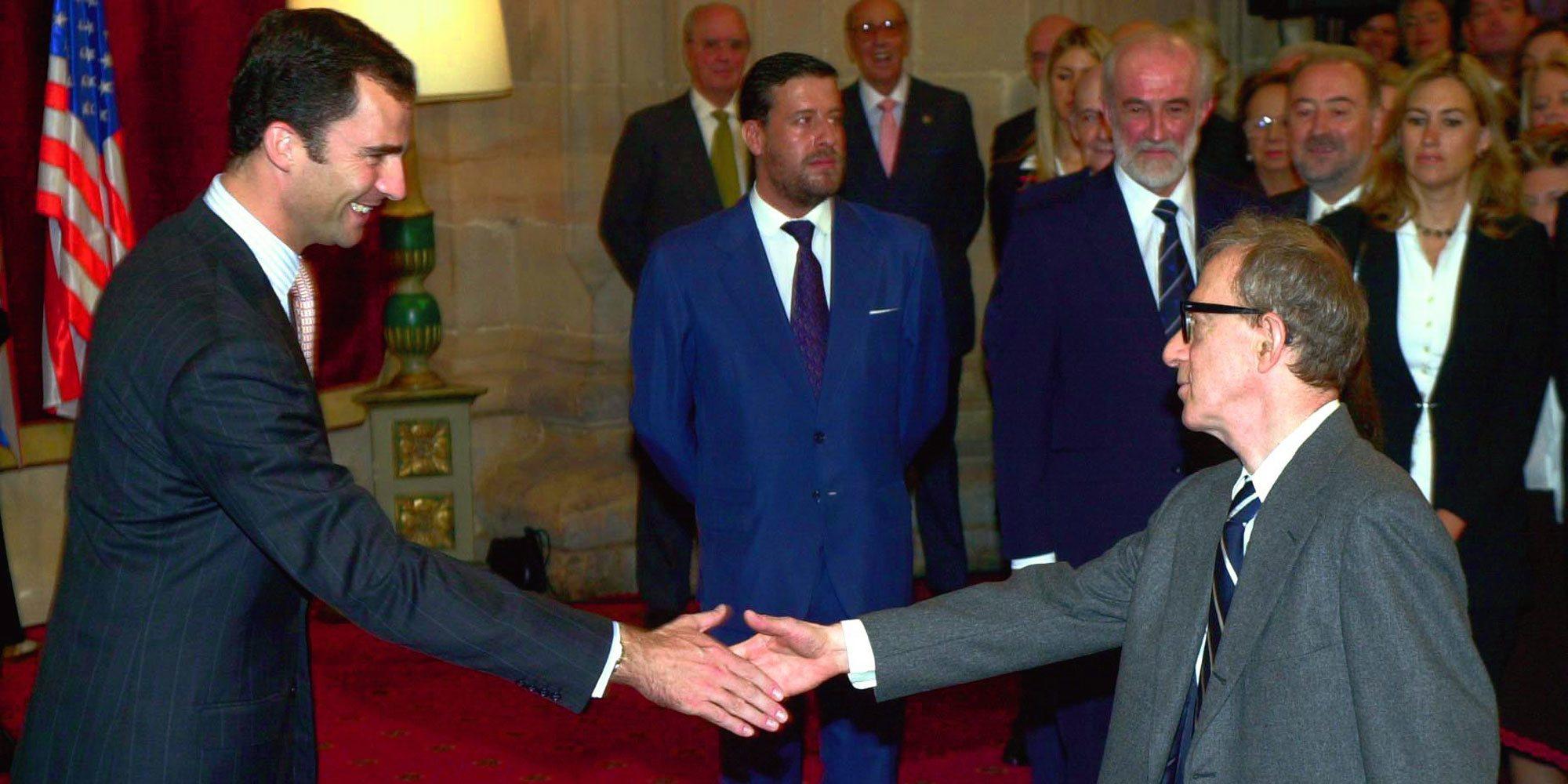 Woody Allen desvela su relación con el Rey Felipe tras conocerse en los Premios Príncipe de Asturias 2002