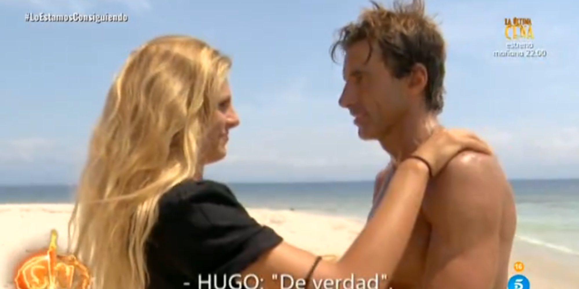 La bronca de Ivana y Hugo en la visita de despedida de la italiana antes de dejar 'Supervivientes 2020'