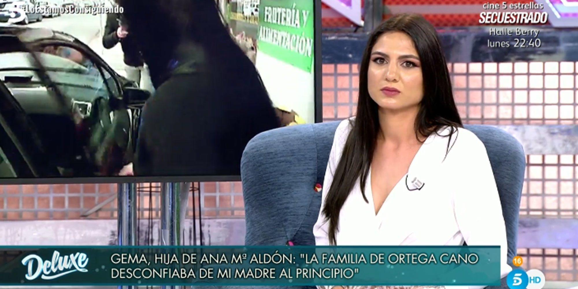 La hija de Ana María Aldón aclara su relación con Gloria Camila y reconoce el apoyo que le ofrece Ortega Cano