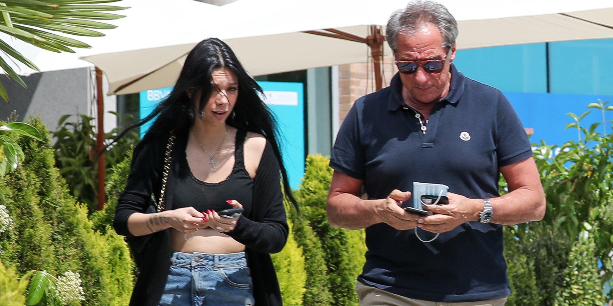 Alejandra Rubio se reencuentra con su padre Alejandro en la Fase 1 tras meses sin verse