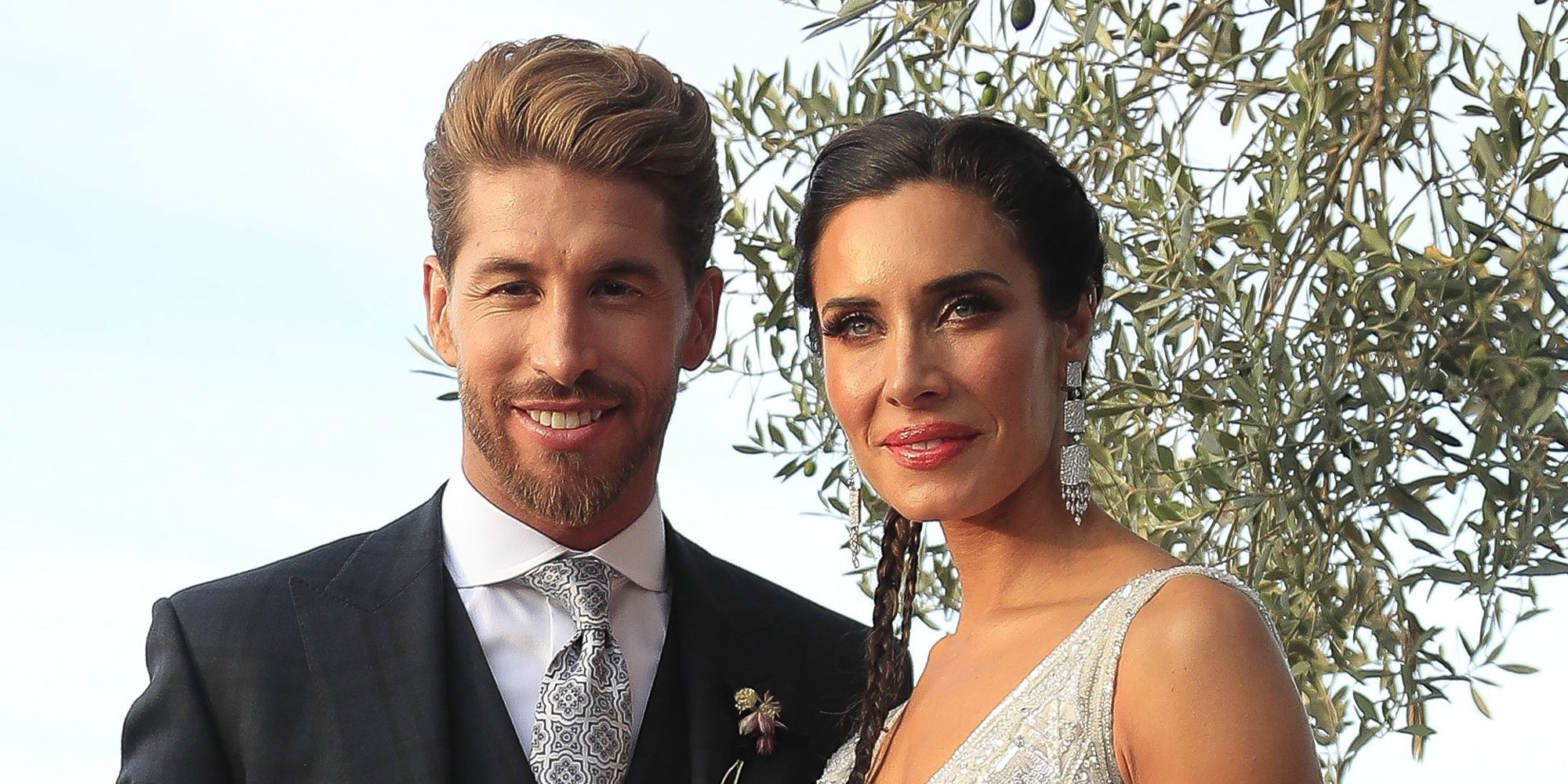 Pilar Rubio y Sergio Ramos celebran su primer aniversario enseñando fotos inéditas de su boda