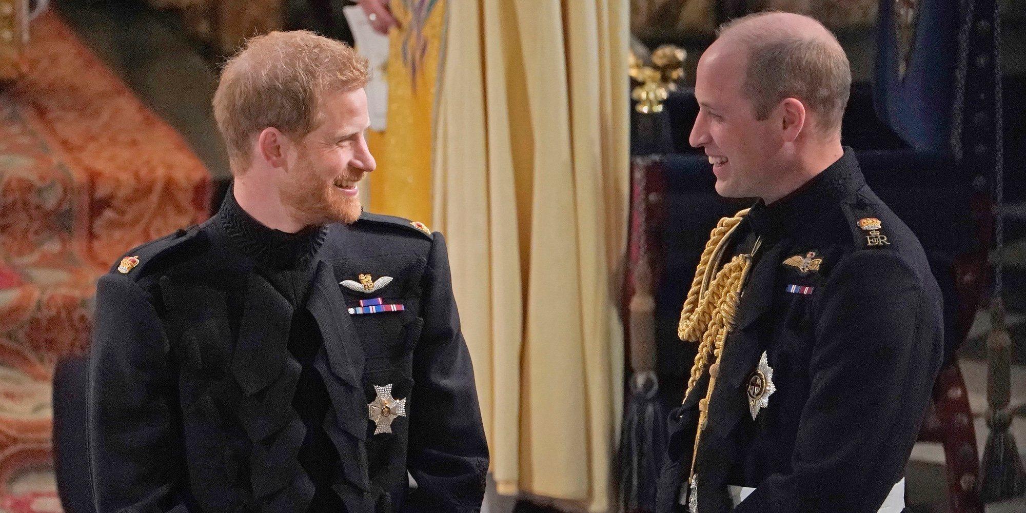 El Príncipe Guillermo y el Príncipe Harry dejan fuera a Kate Middleton y Meghan Markle en su camino a la reconciliación