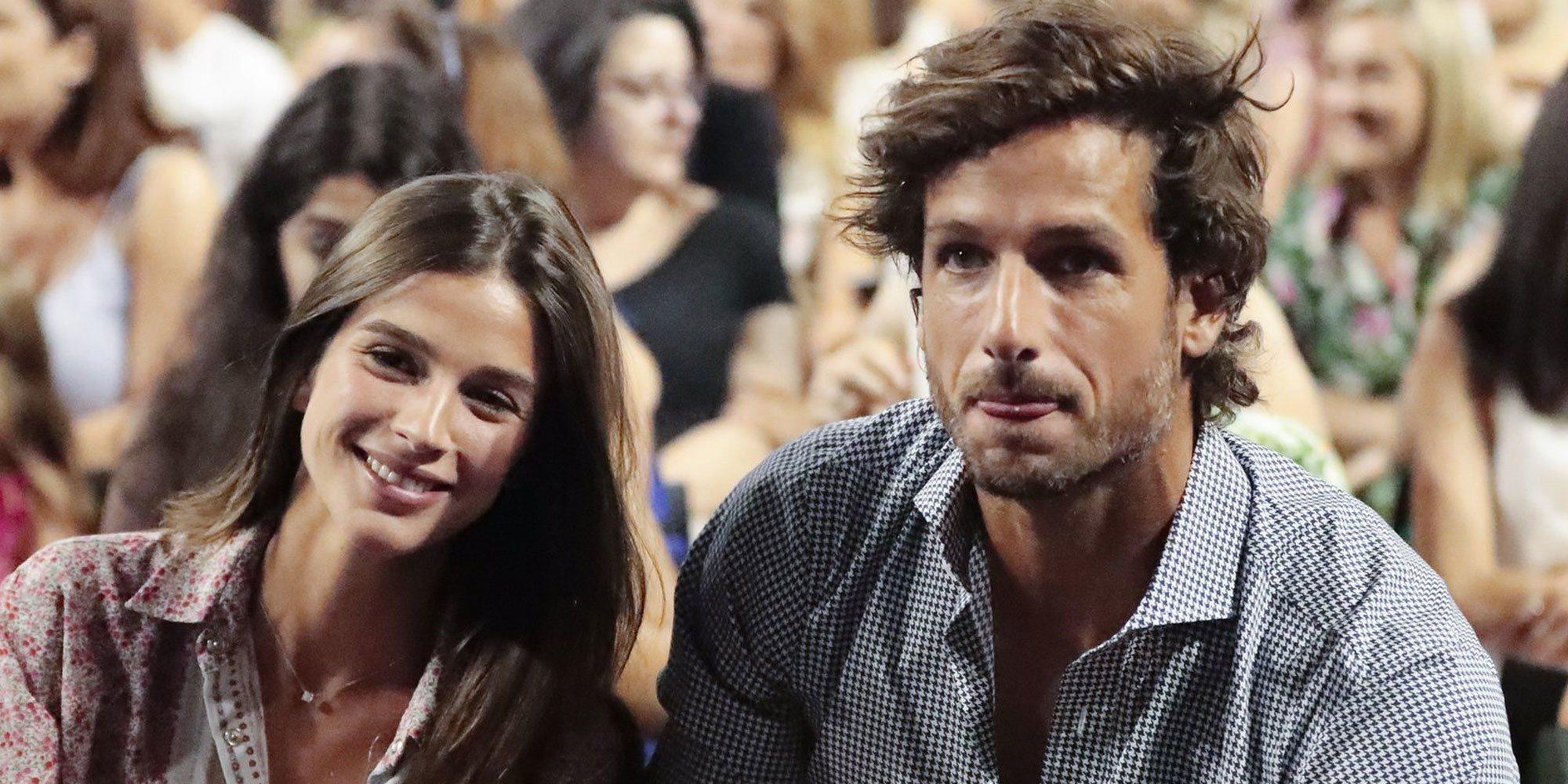 Feliciano López y Sandra Gago desvelan el sexo del bebé que esperan