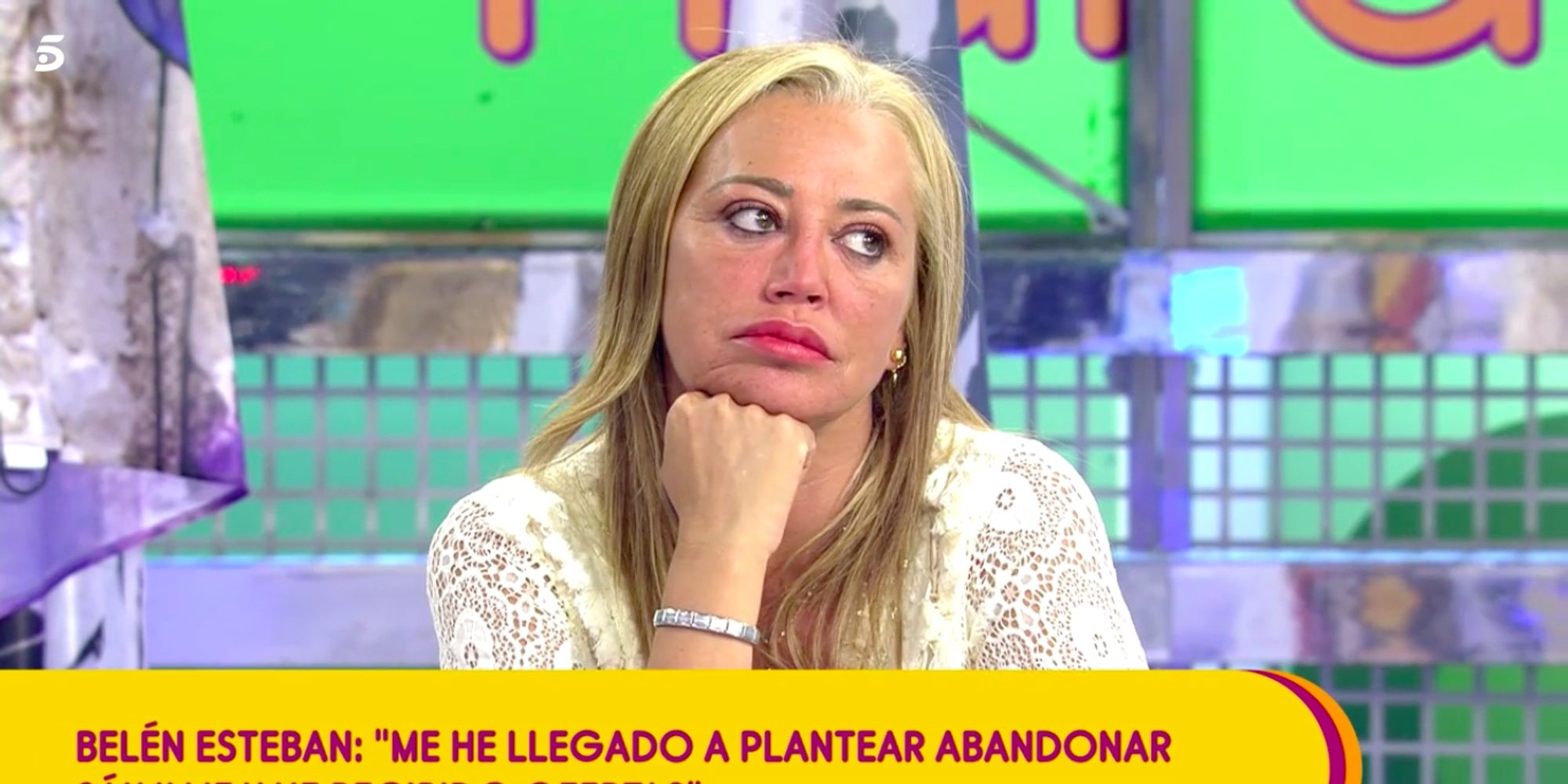 Belén Esteban confiesa que se ha planteado dejar 'Sálvame'