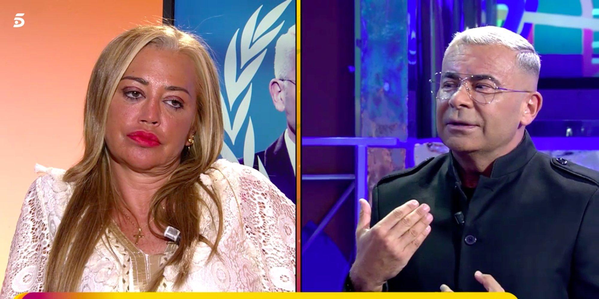 Jorge Javier Vázquez desvela el mensaje con el que trató de hacer las paces con Belén Esteban tras su bronca