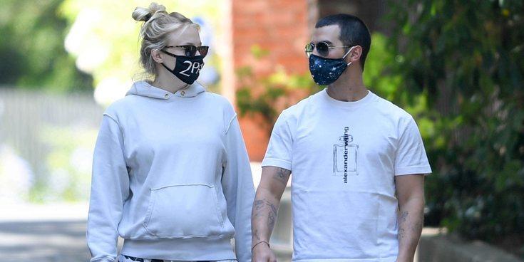 Joe Jonas y Sophie Turner disfrutan de la recta final del embarazo