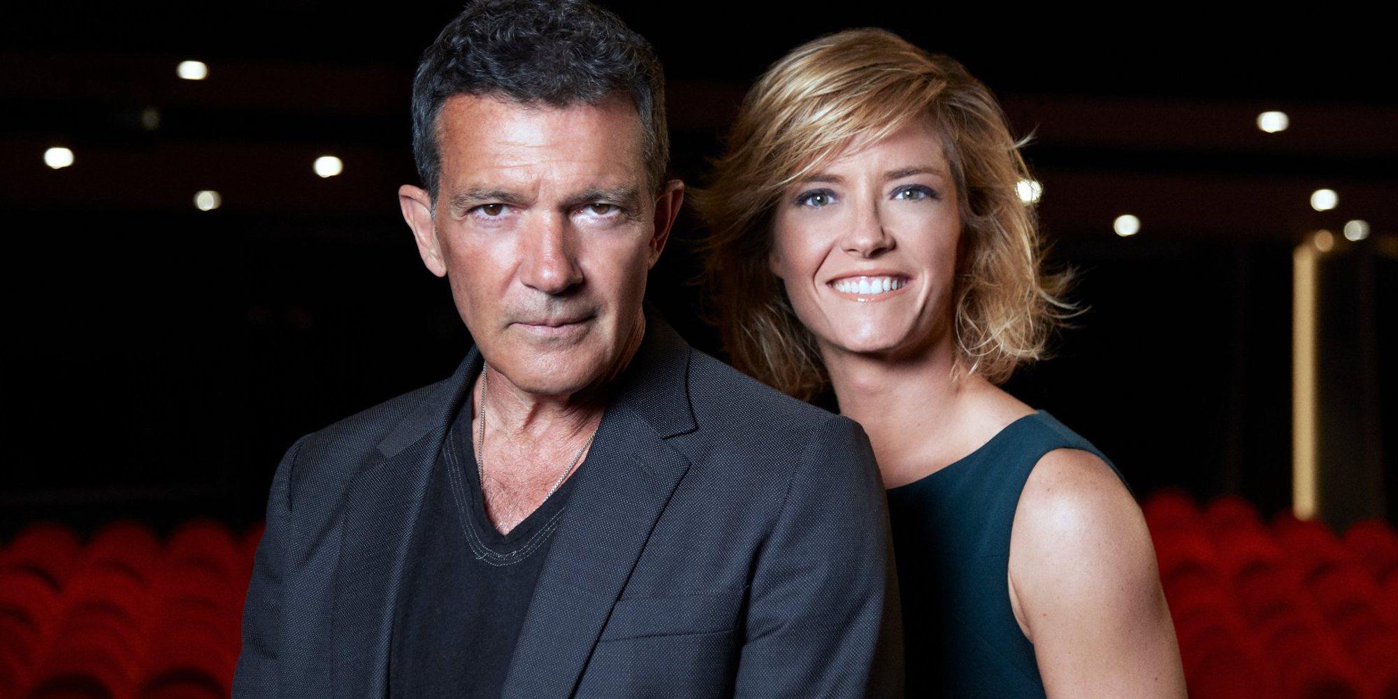 Antonio Banderas y María Casado, presentadores de la gala de los Premios Goya 2021