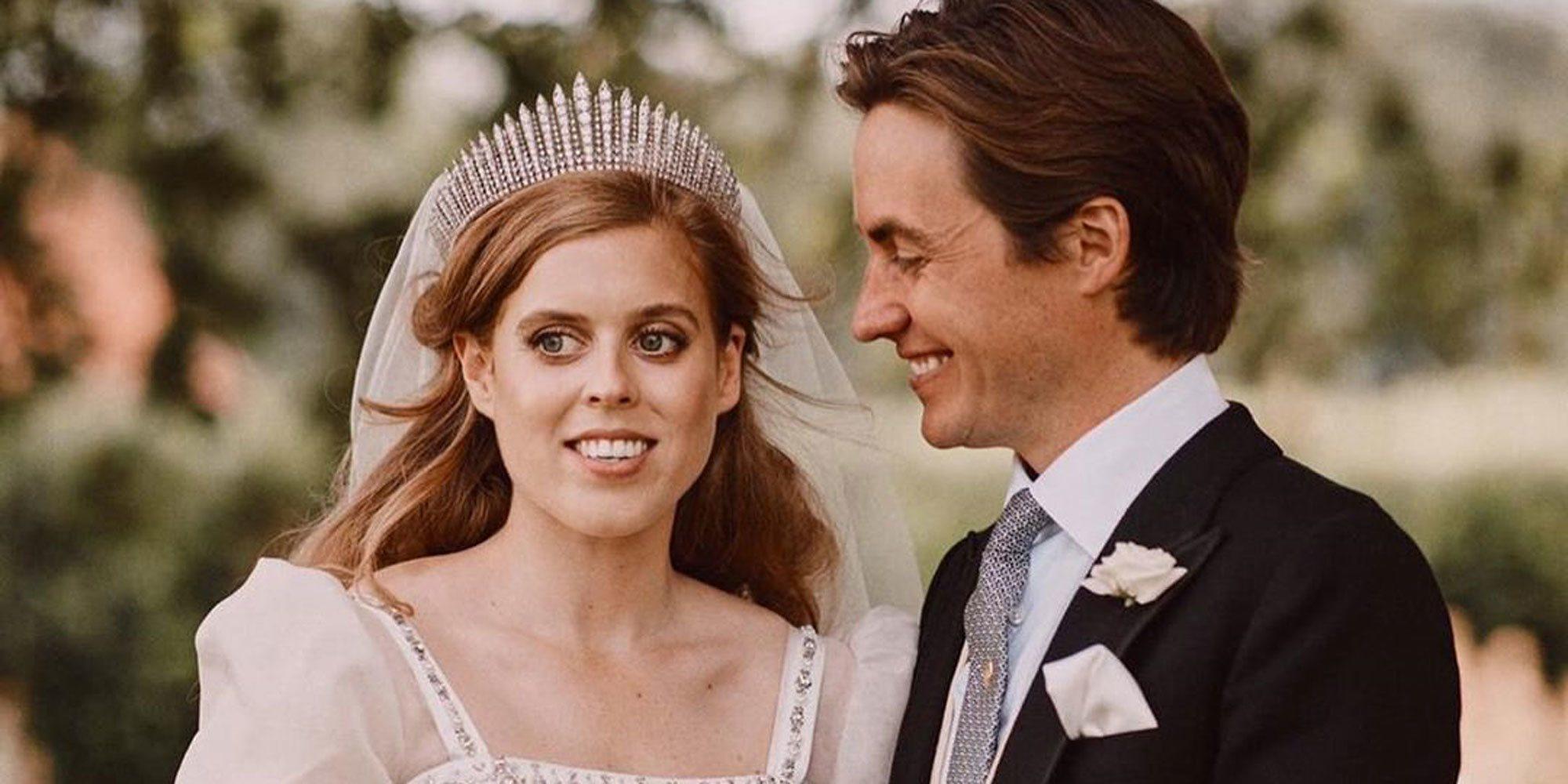Edoardo Mapelli comparte las imágenes más especiales de su boda con Beatriz de York