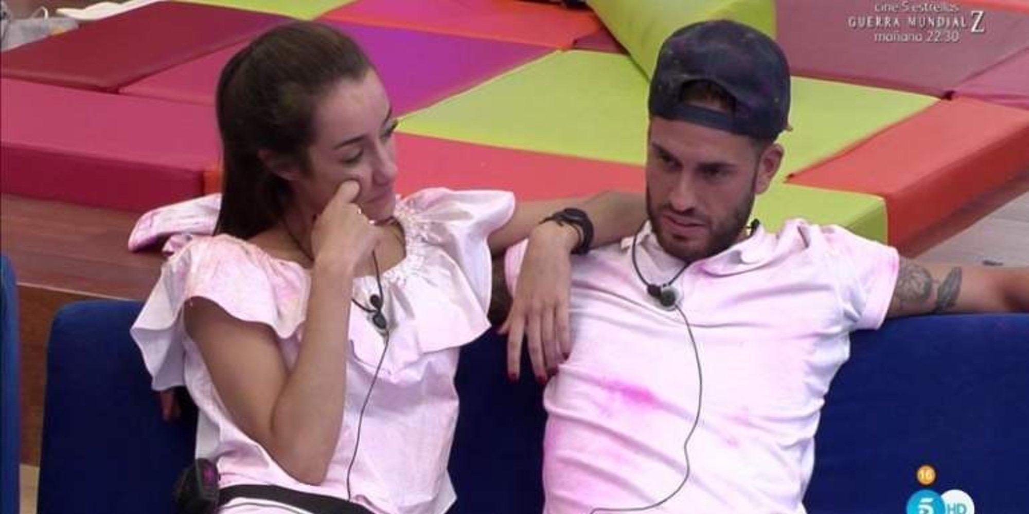 Rodri Fuertes y Adara Molinero publican su primera foto de pareja desde Ibiza