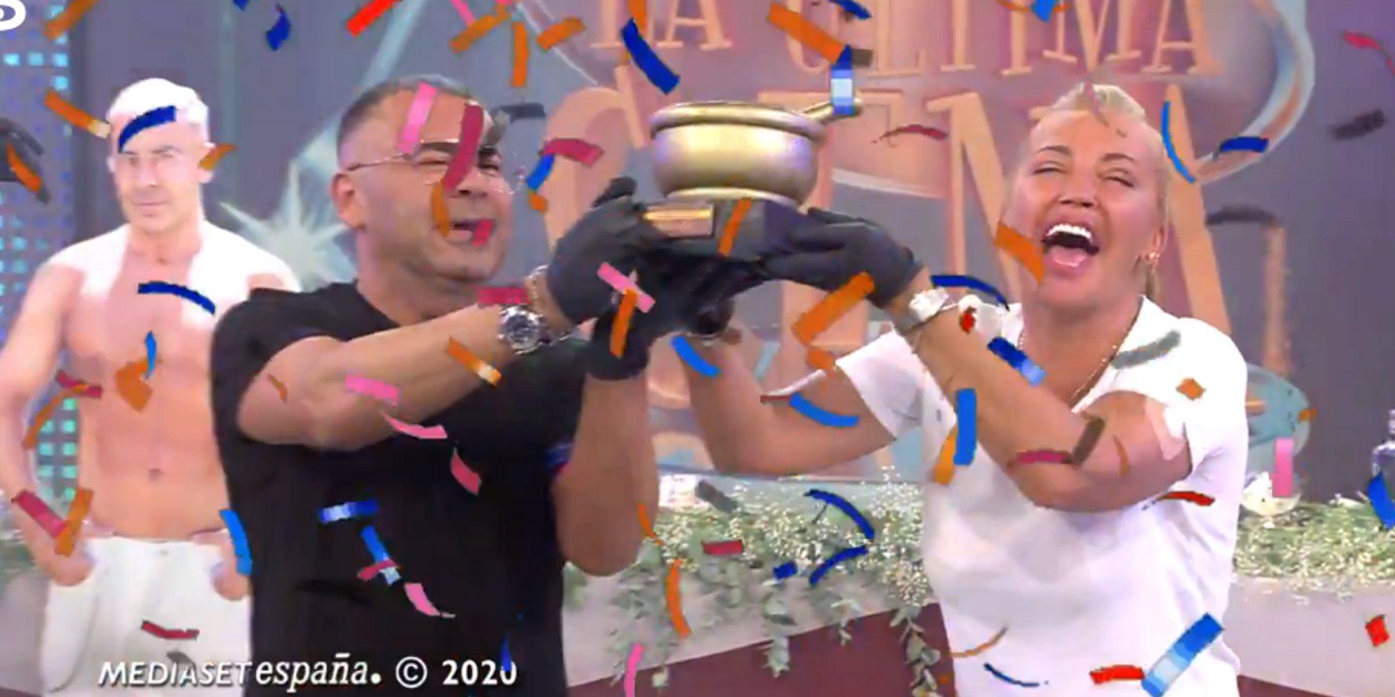 Belén Esteban y Jorge Javier Vázquez ganan 'La última cena' frente a Terelu Campos y Víctor Sandoval