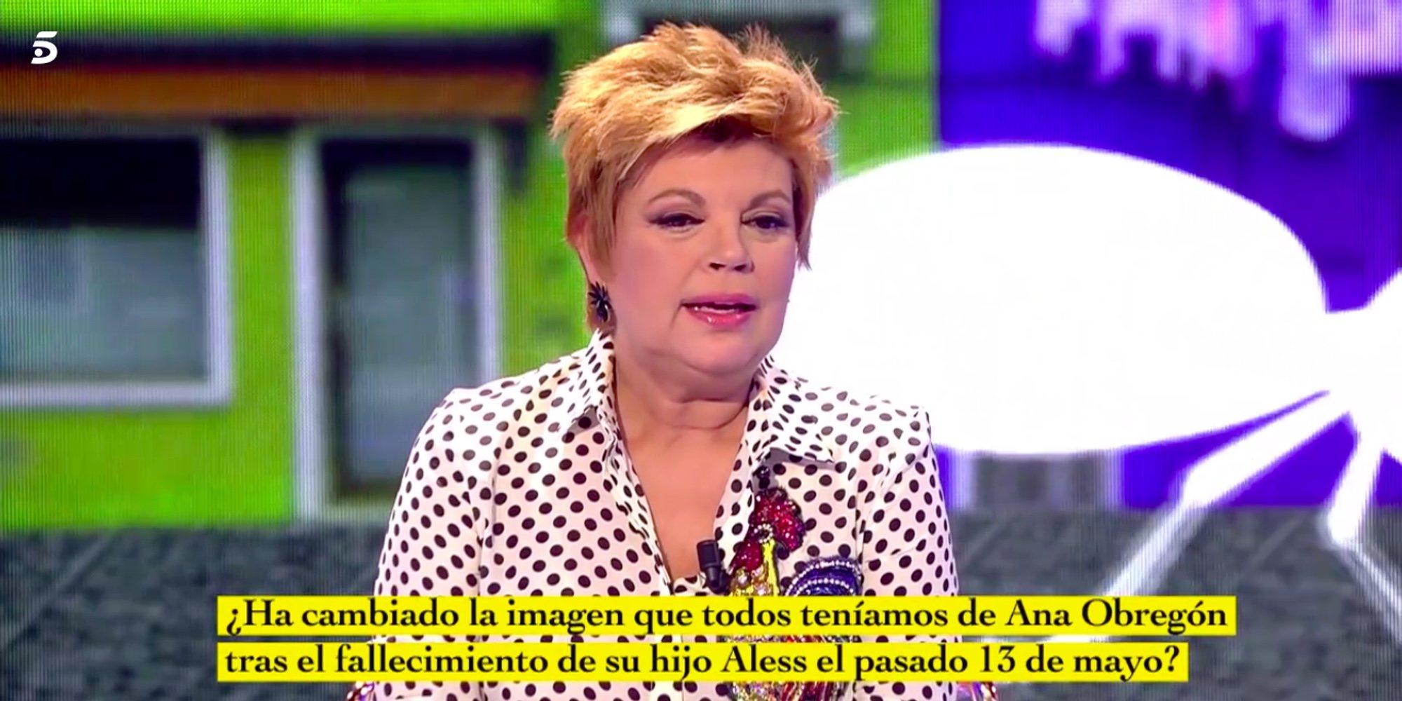 """Terelu Campos cuenta cómo se encuentra Ana Obregón: """"Hay días que no se puede levantar. Está sobreviviendo"""""""
