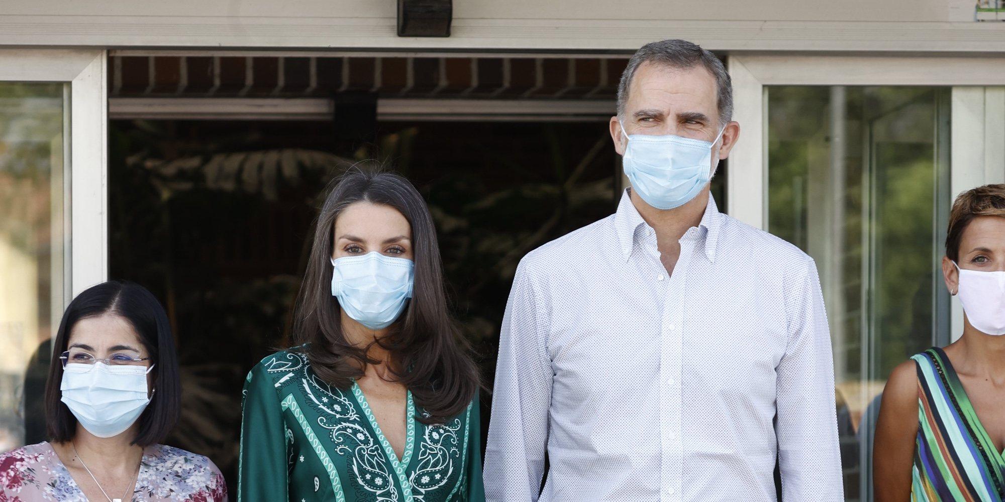 La incómoda visita de los Reyes Felipe y Letizia a Navarra en su tour por España tras la crisis del coronavirus