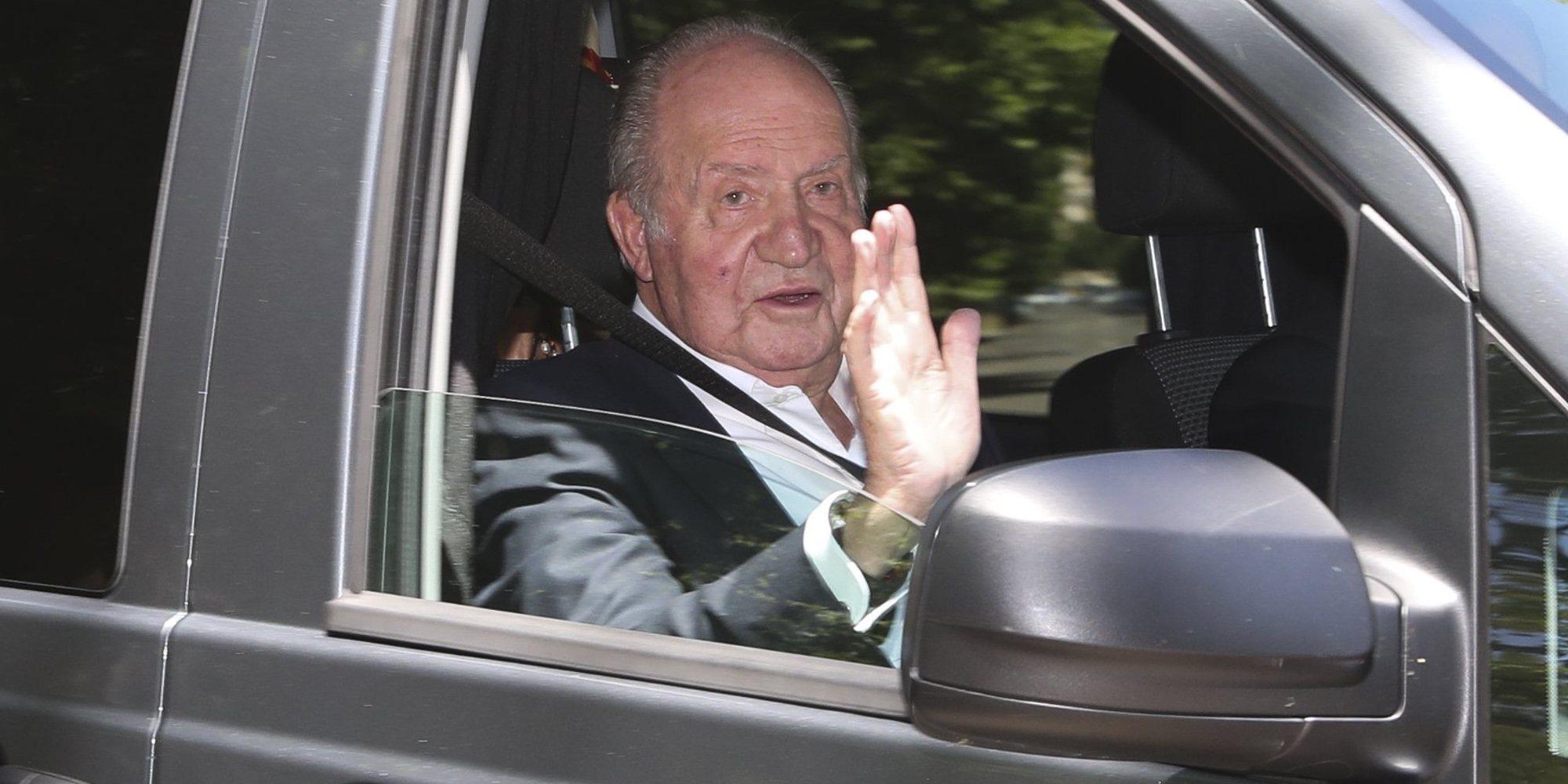 Casa Real confirma el destino del Rey Juan Carlos tras su marcha de España