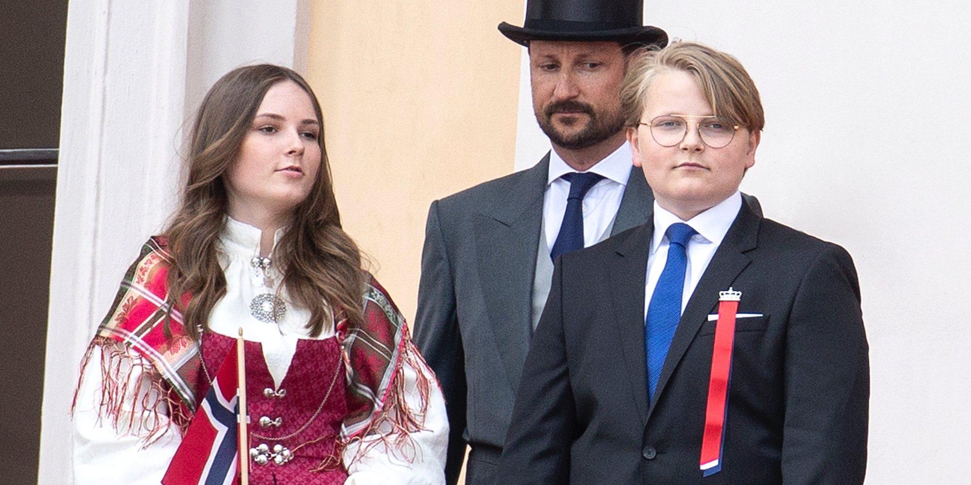 El esperado disgusto de Sverre Magnus de Noruega ante su Confirmación