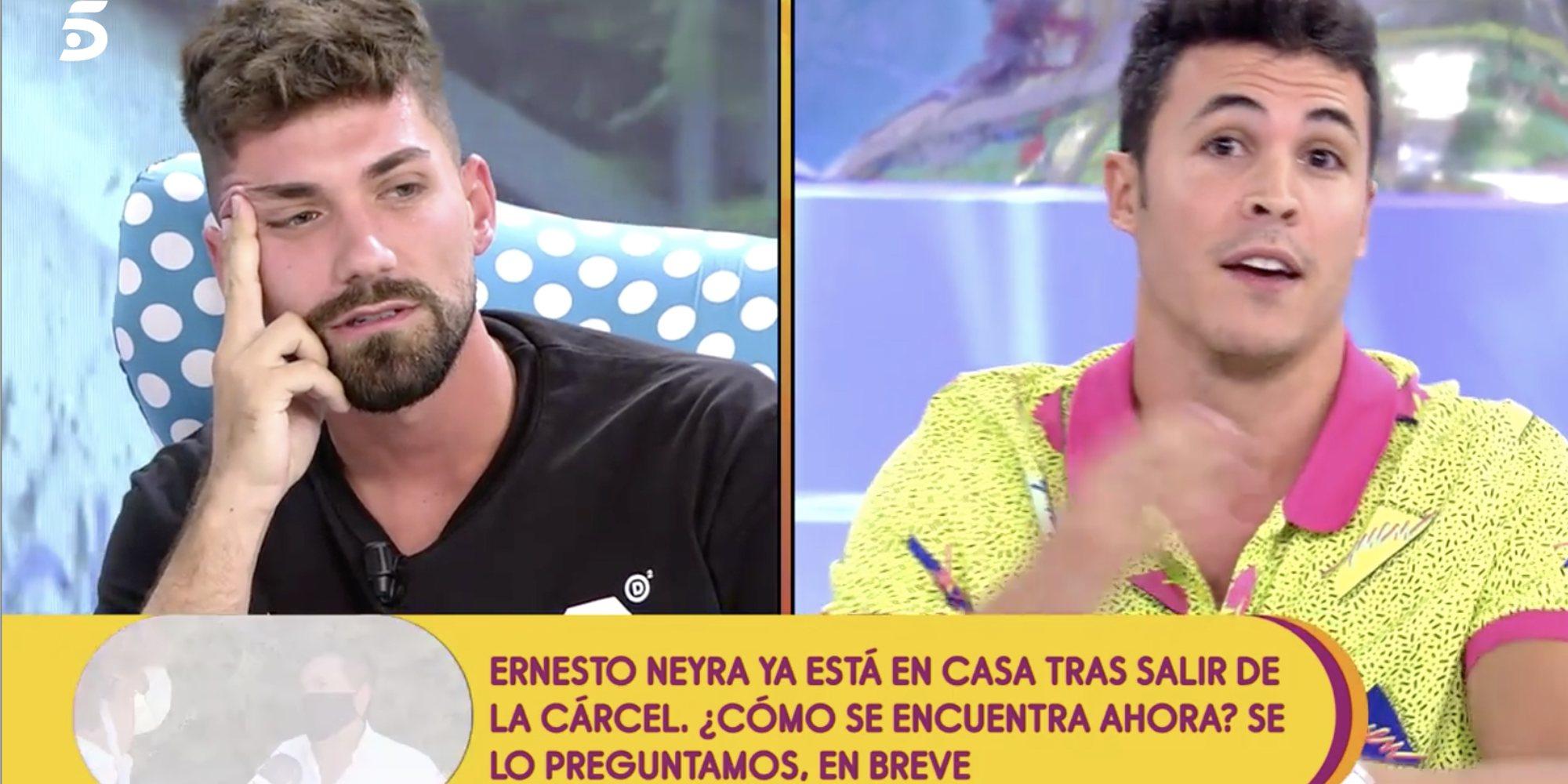 "Tenso cara a cara entre Kiko Jiménez y Alejandro Abalá: ""Esto ya está en manos de mis abogados"""