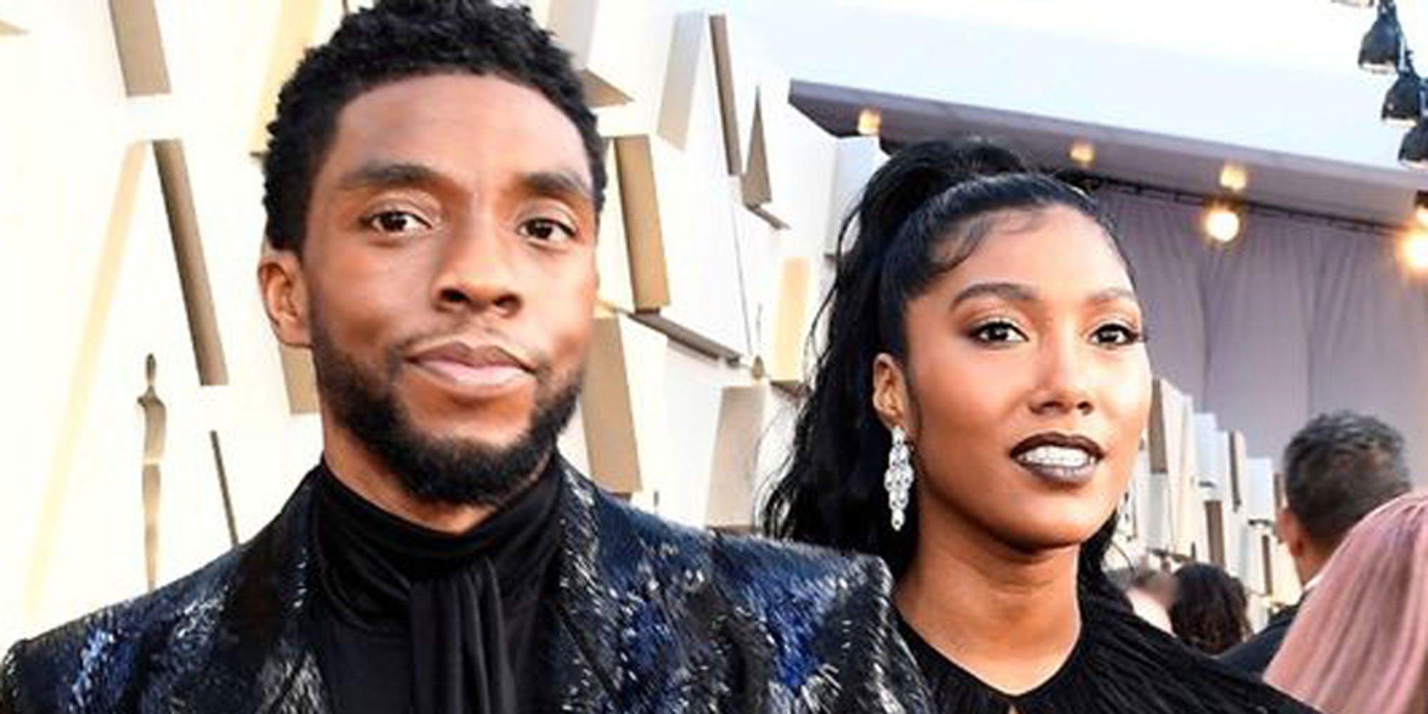 Chadwick Boseman se casó poco antes de morir: Así fue su discreta relación con Taylor Simone Ledward