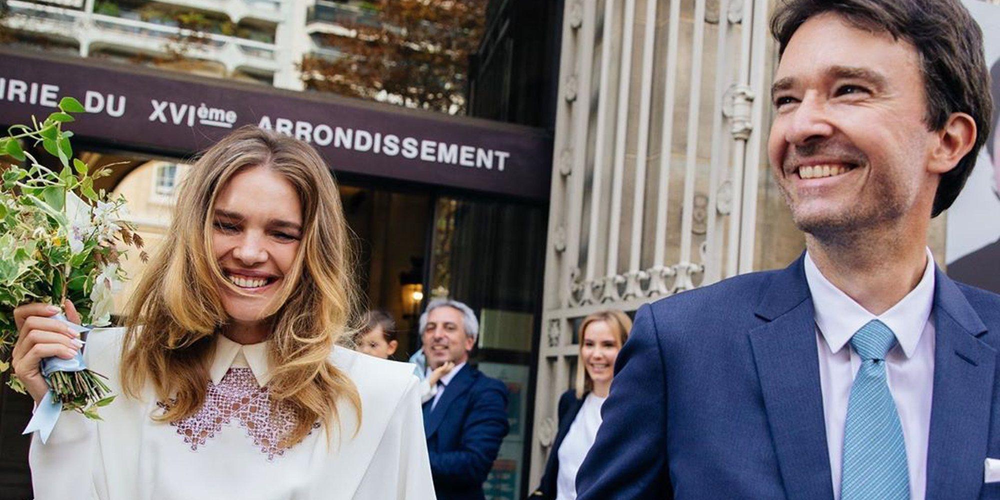 Natalia Vodianova y Antoine Arnault se han casado por sorpresa