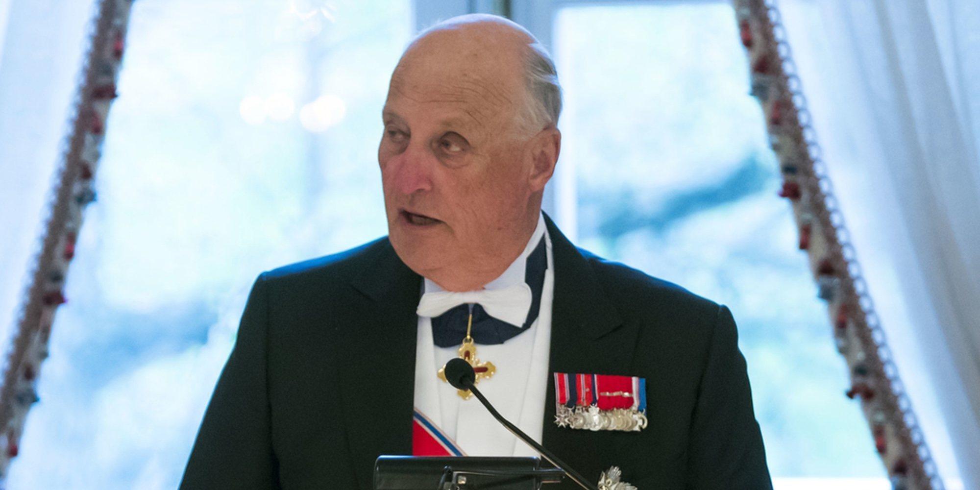La Casa Real Noruega revela el motivo del ingreso de urgencia de Harald de Noruega