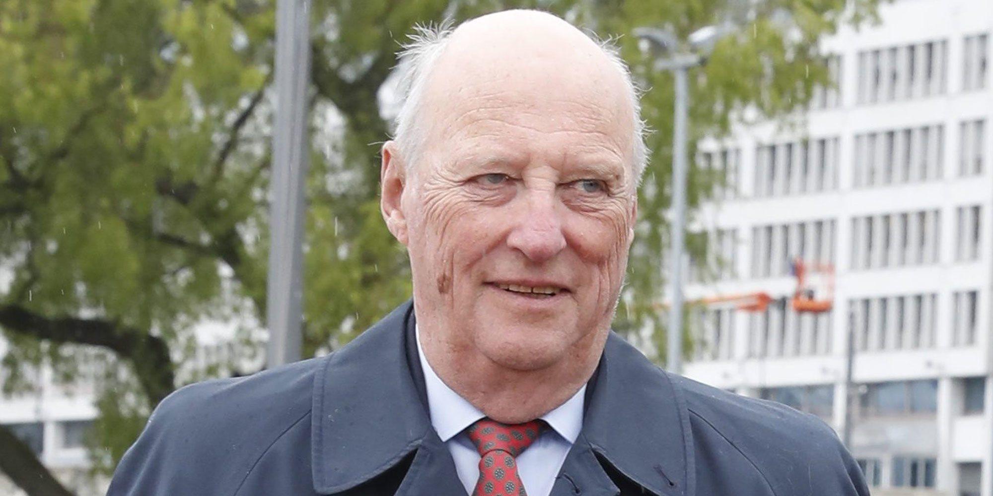 Harald de Noruega recibe el alta después de tres días de ingreso y permanecerá de baja una semana