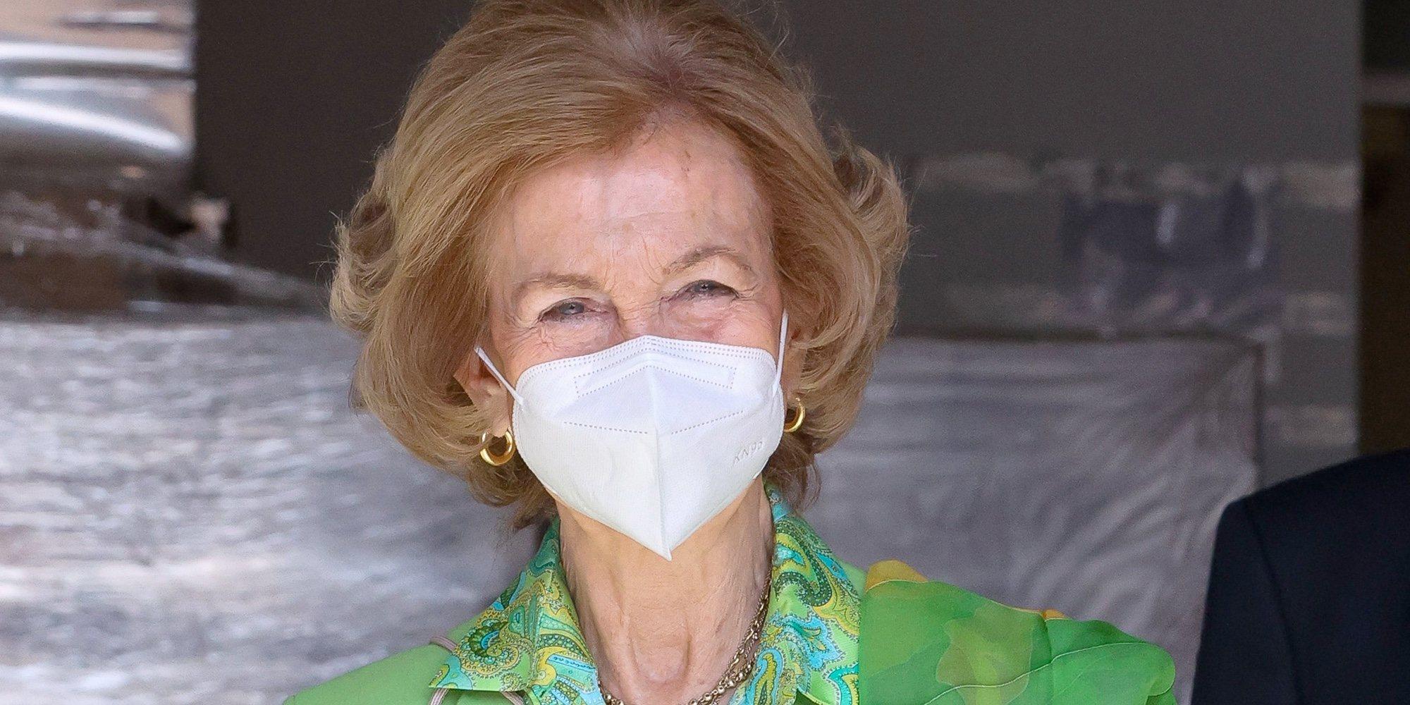 La pandemia priva a la Reina Sofía de su esperado regreso a la agenda oficial de Casa Real