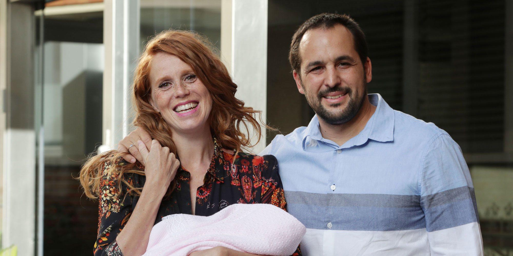 María Castro presenta a su segunda hija Olivia