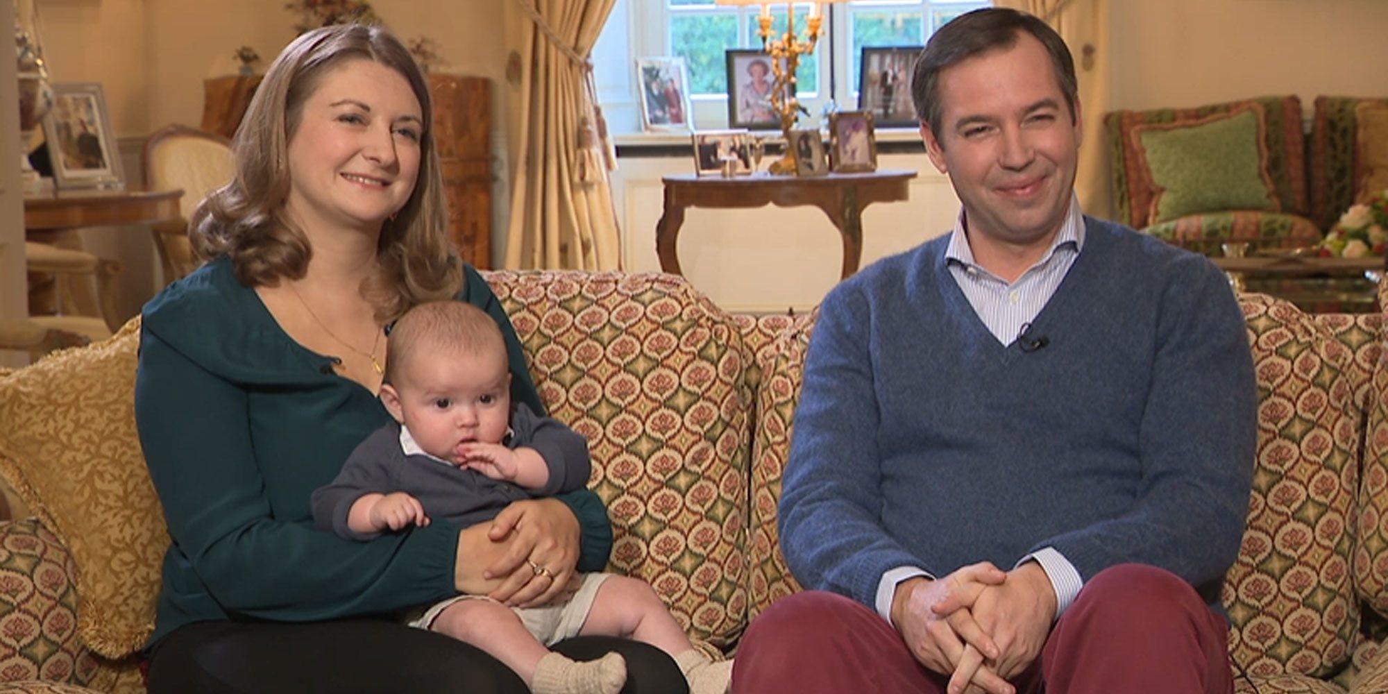 Guillermo y Stéphanie de Luxemburgo hablan sobre su vida como padres y revelan por qué su hijo se llama Carlos