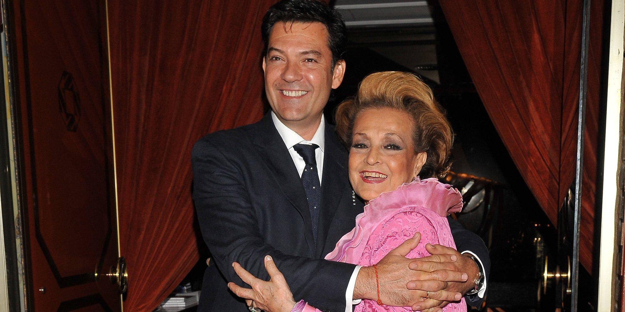 """Augusto Algueró explica cómo está su madre, Carmen Sevilla: """"No se conoce a ella misma"""""""
