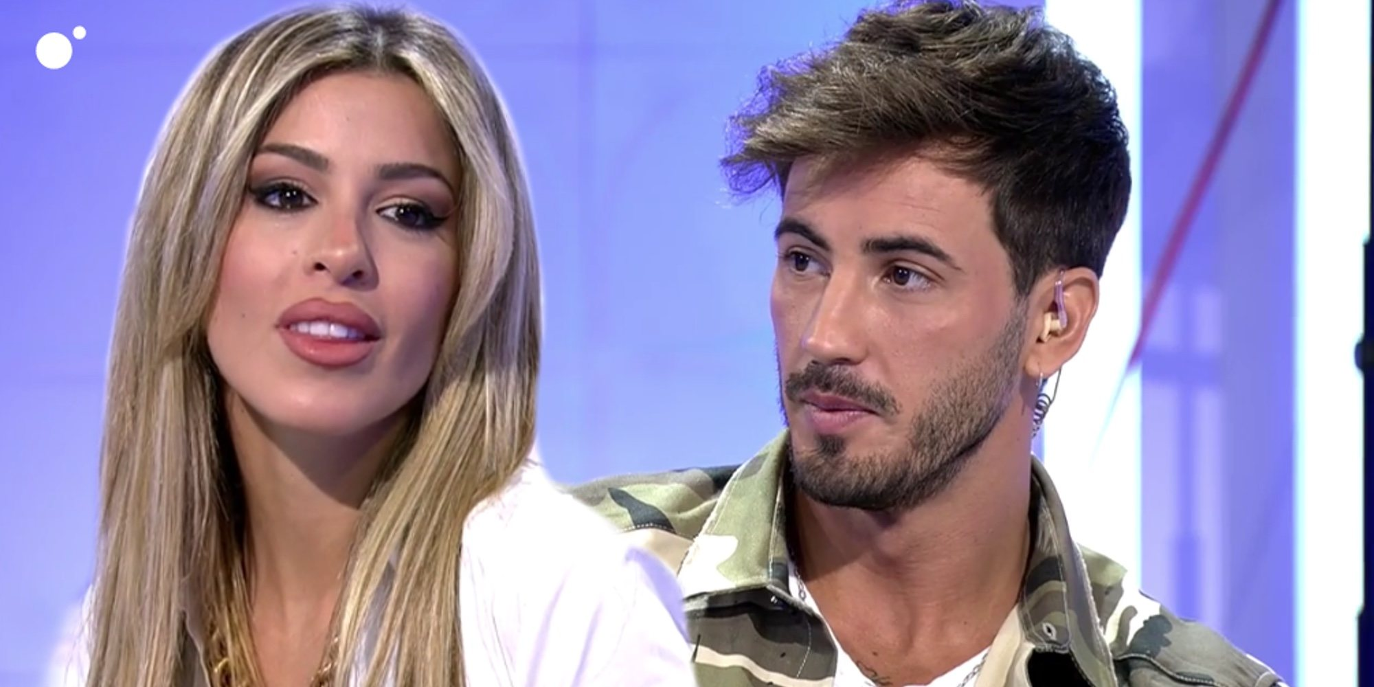 """Oriana Marzoli e Iván González rompen en directo tras una bronca en 'MYHYV': """"Eres un falso"""""""