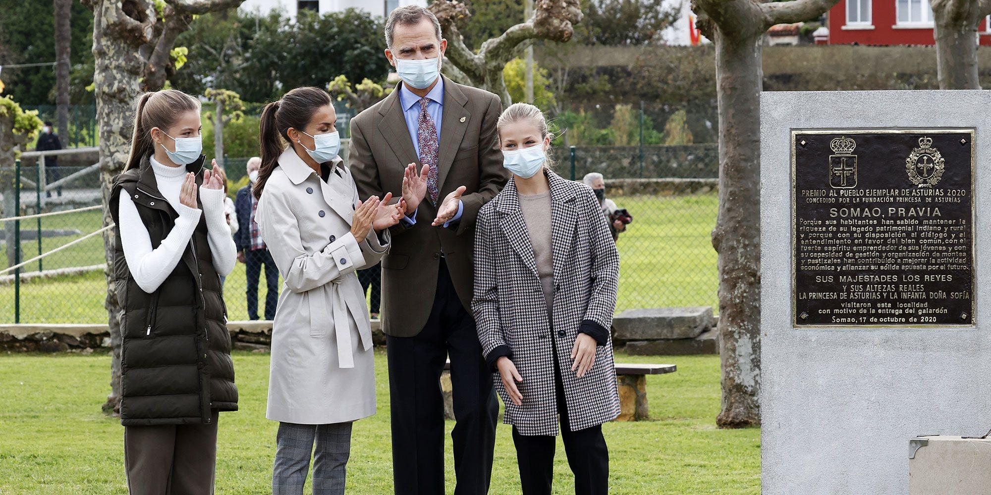 Los regalos recibidos por los Reyes Felipe y Letizia, la Princesa Leonor y la Infanta Sofía en Somao, Pueblo Ejemplar 2020
