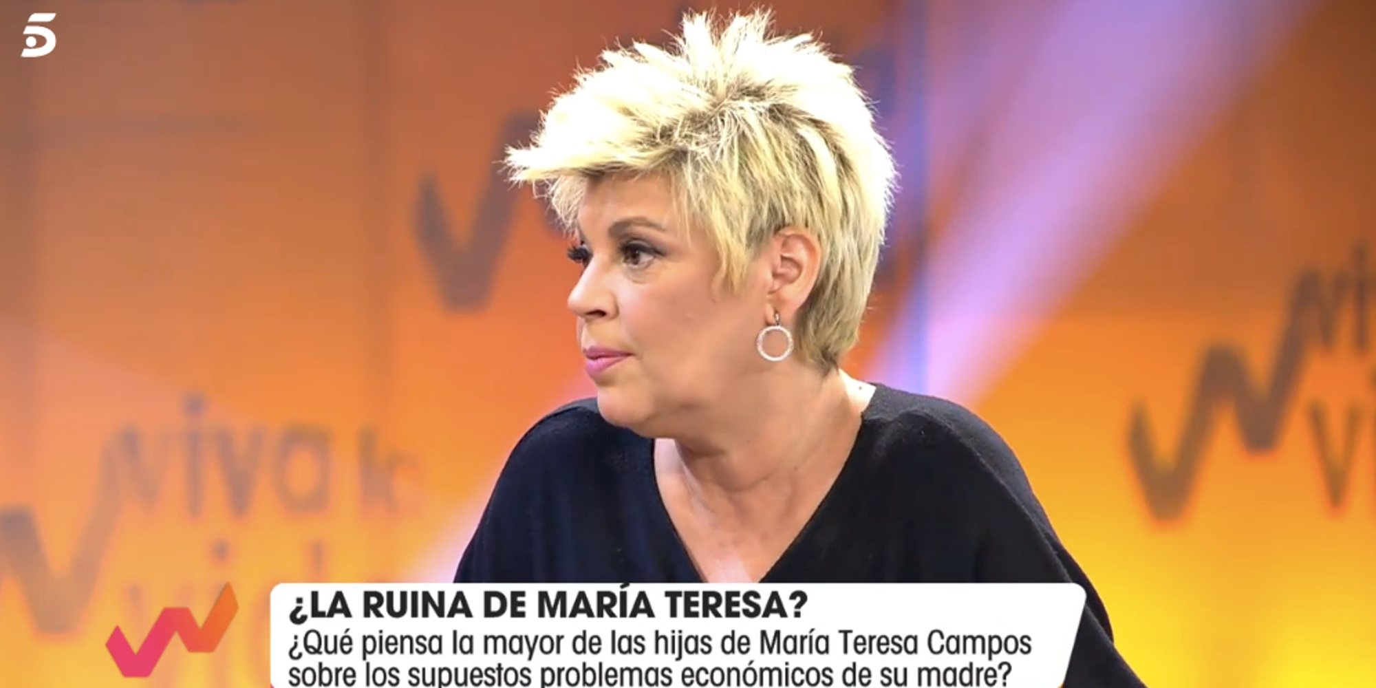"""Terelu Campos habla de María Teresa Campos: """"A nivel personal está hasta el mismísimo moño"""""""