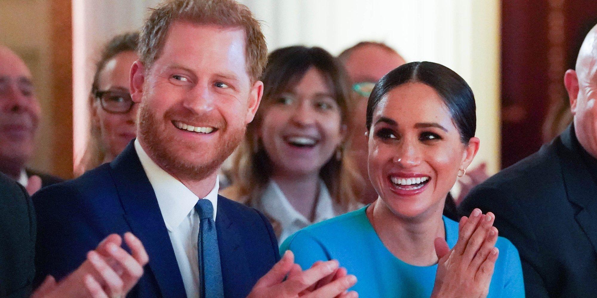 El primer posado del Príncipe Harry y Meghan Markle desde el Megxit
