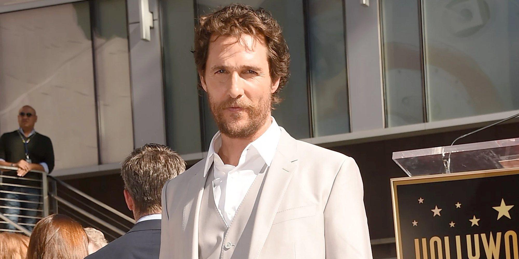 Matthew McConaughey sufrió abusos sexuales a los 18 años