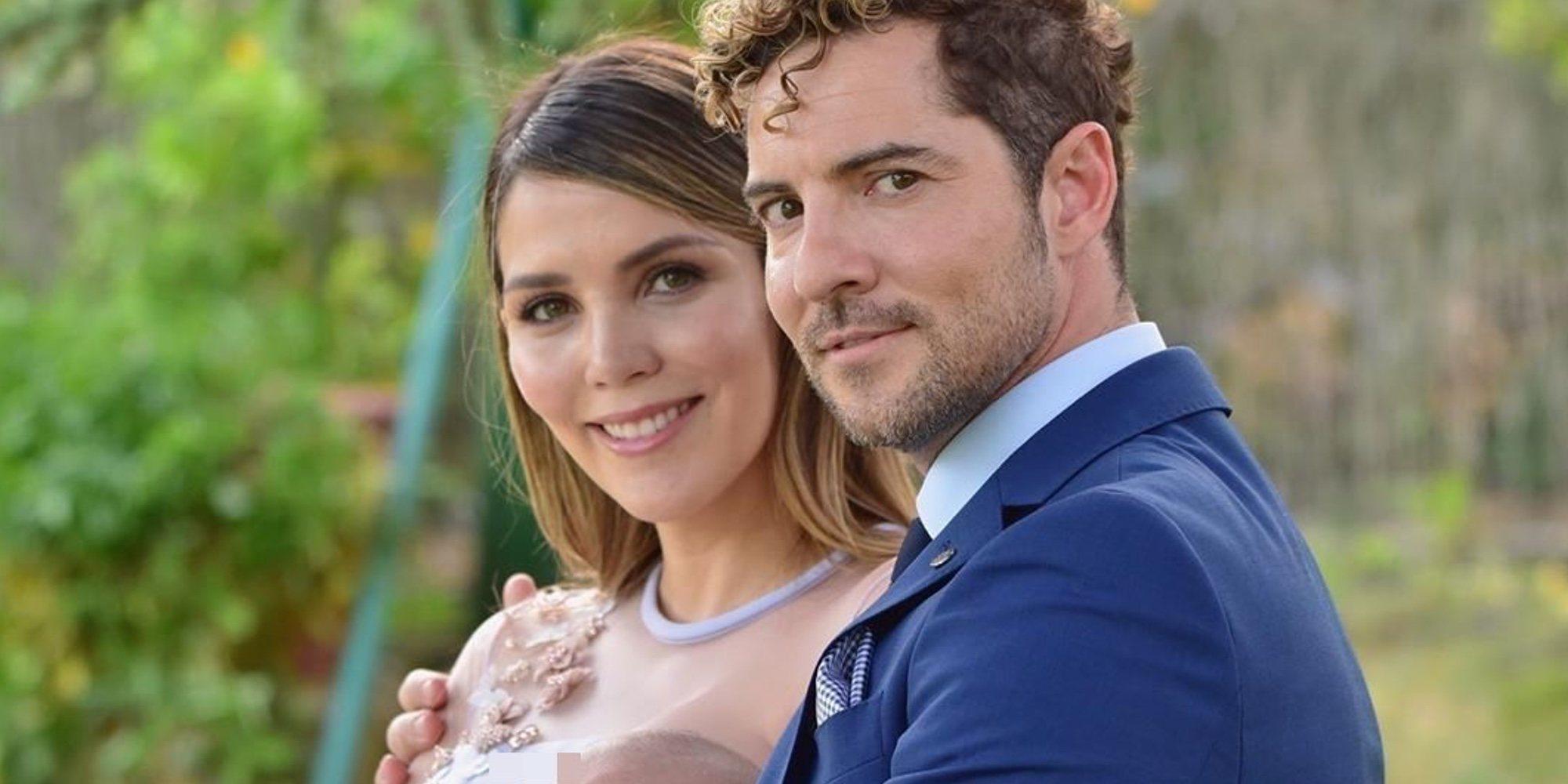 David Bisbal y Rosanna Zanetti han sido padres de una niña