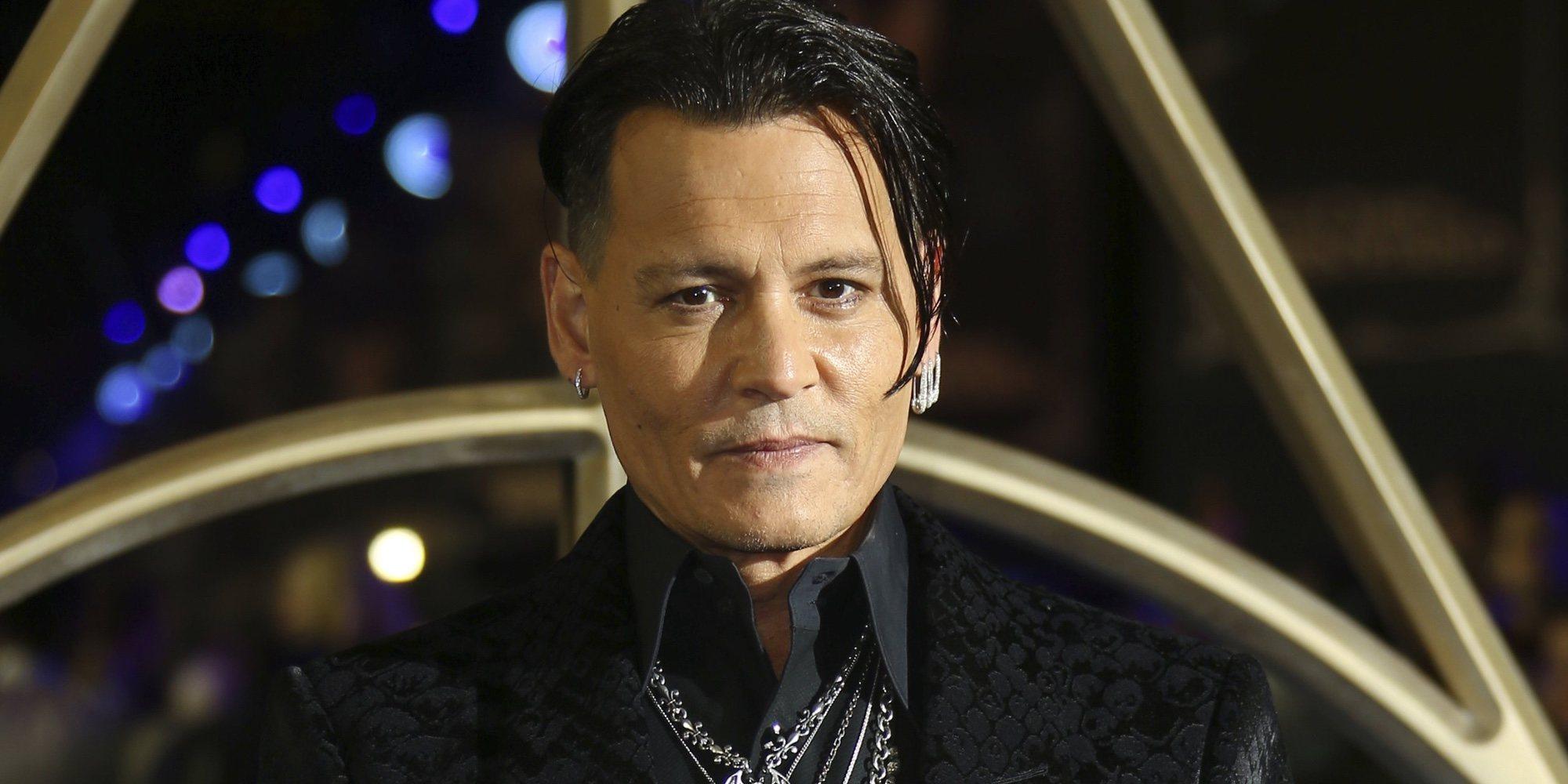 Johnny Depp anuncia su marcha de 'Animales fantásticos' por sus problemas judiciales con Amber Heard