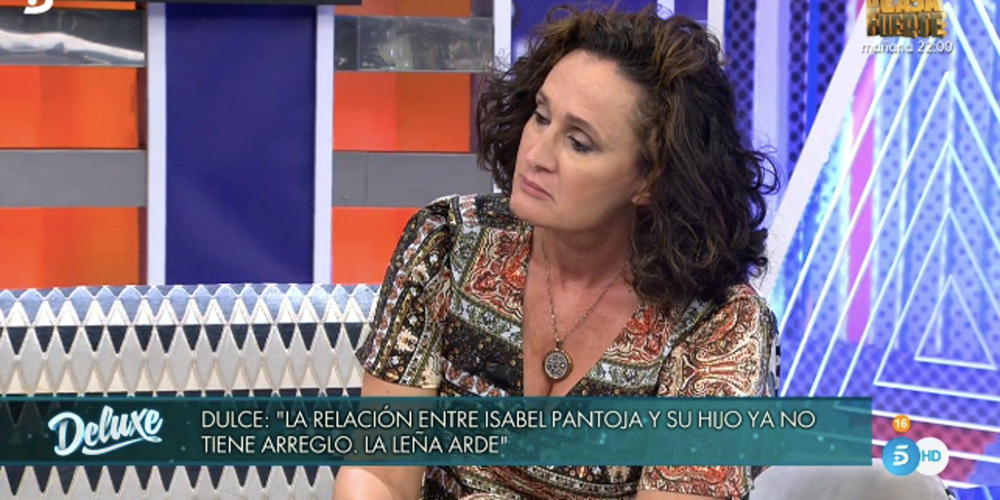 """Dulce Delapiedra: """"Todo lo que Isabel Pantoja hace se le vuelve en su contra"""""""