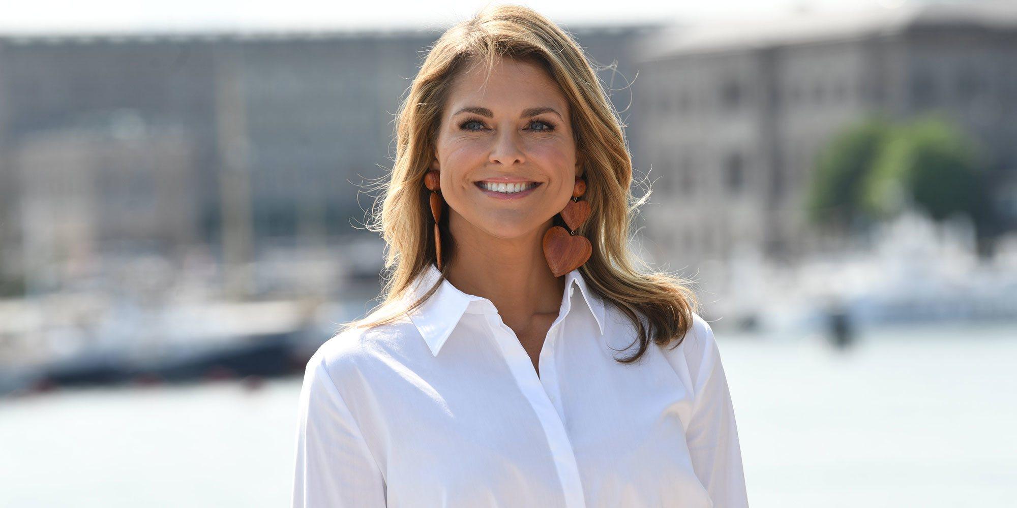Magdalena de Suecia, menos princesa que nunca en su reaparición profesional