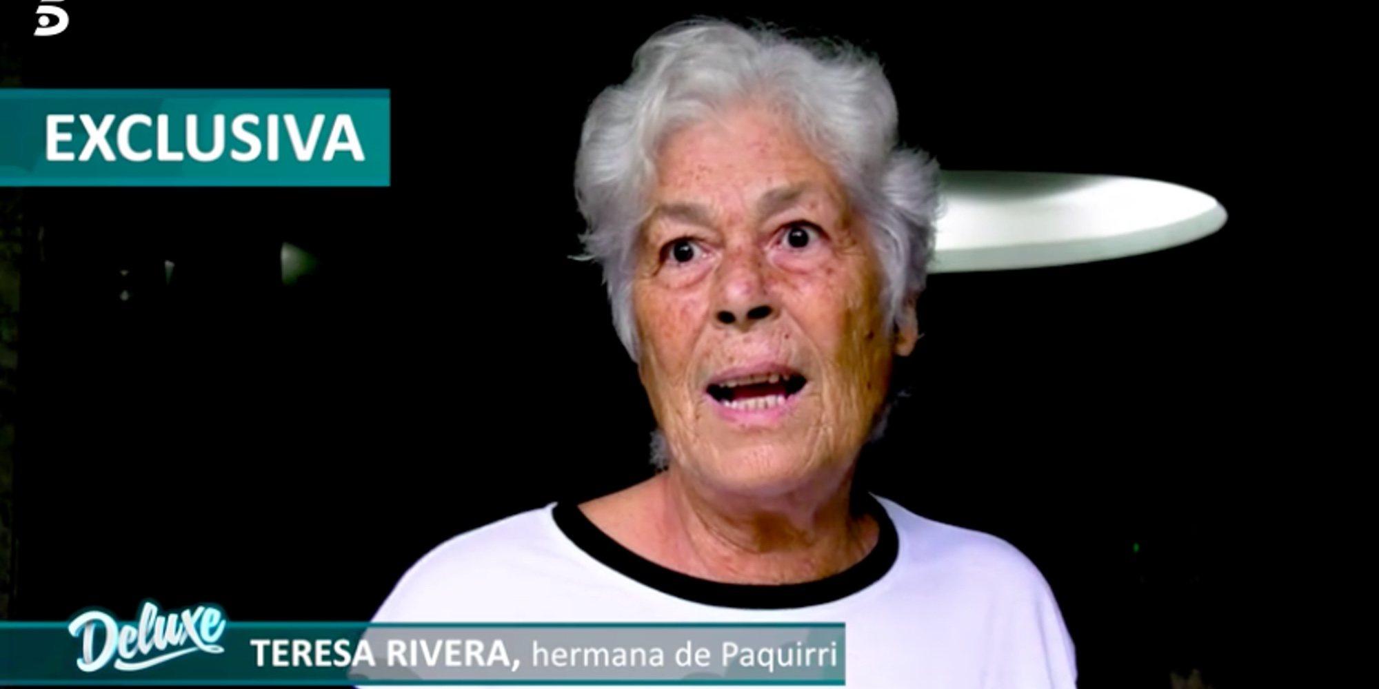 """El bonito mensaje de Teresa Rivera a Kiko Rivera: """"Aquí estamos los Rivera, que le hemos querido siempre"""""""
