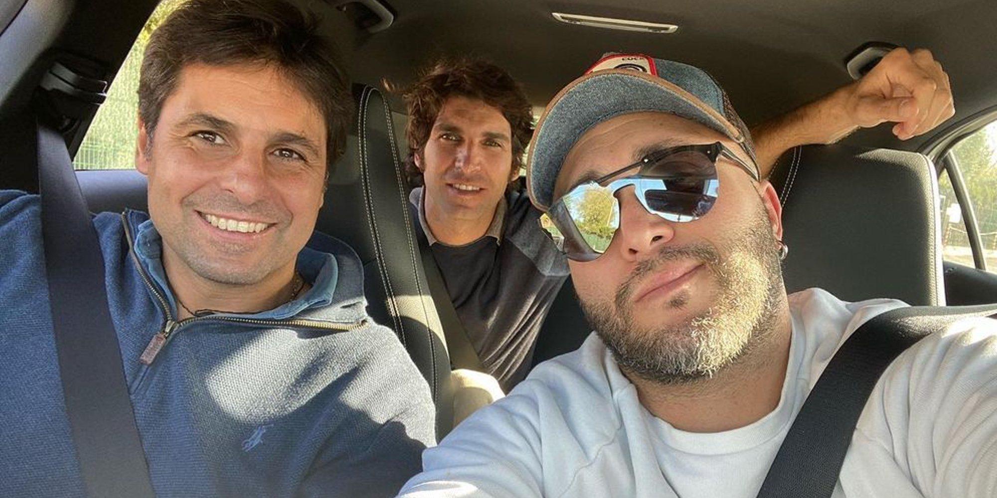 Kiko Rivera, más unido que nunca a sus hermanos Fran y Cayetano visitando a su tío Riverita