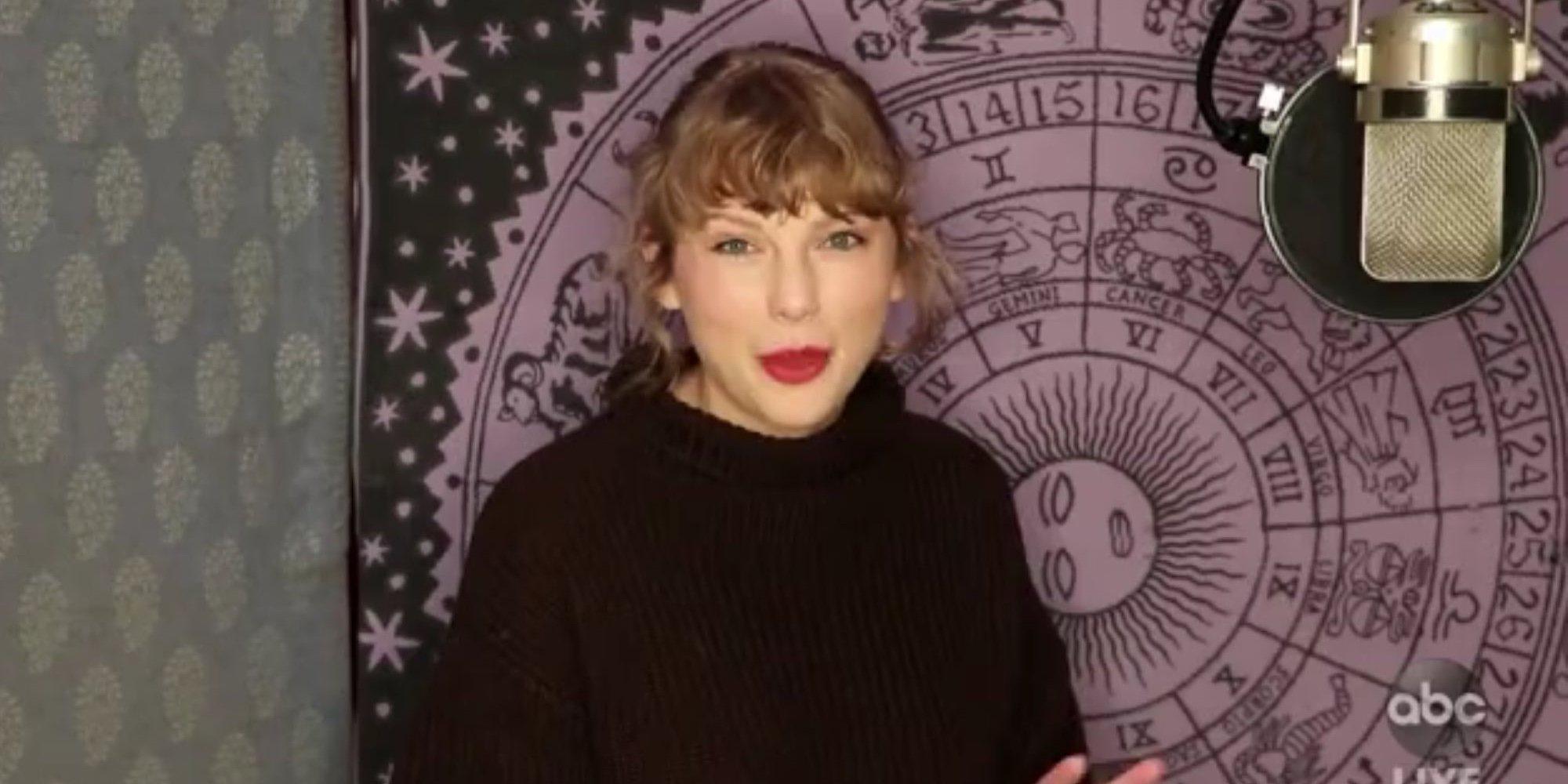 Taylor Swift y The Weeknd, vencedores de la noche de los American Music Awards 2020